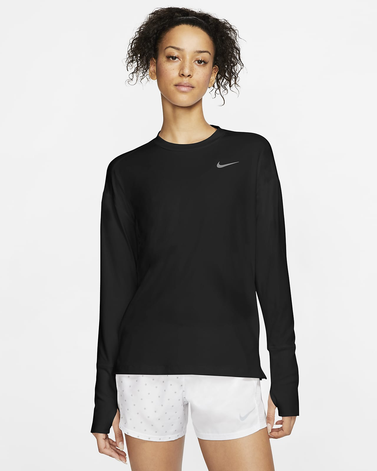 Nike Element 女款跑步上衣