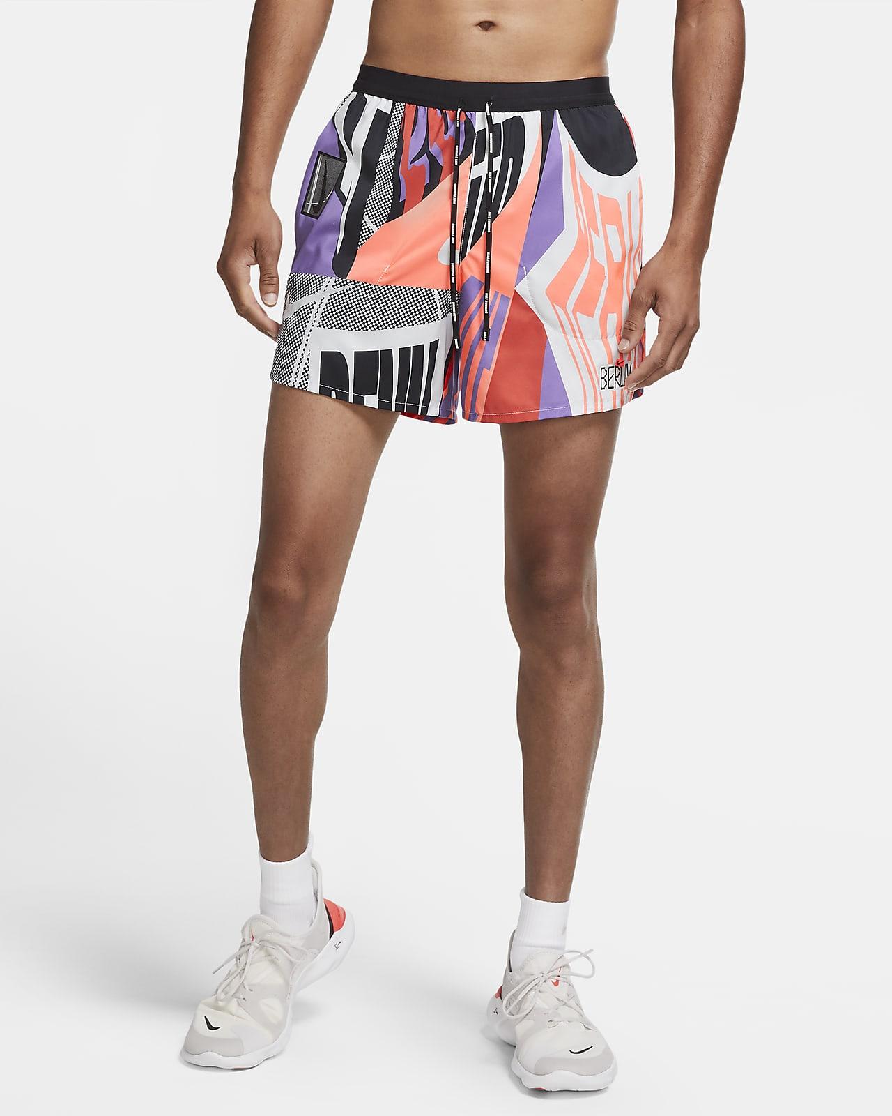 Nike Flex Stride Berlin Hardloopshorts met binnenbroek voor heren (13 cm)