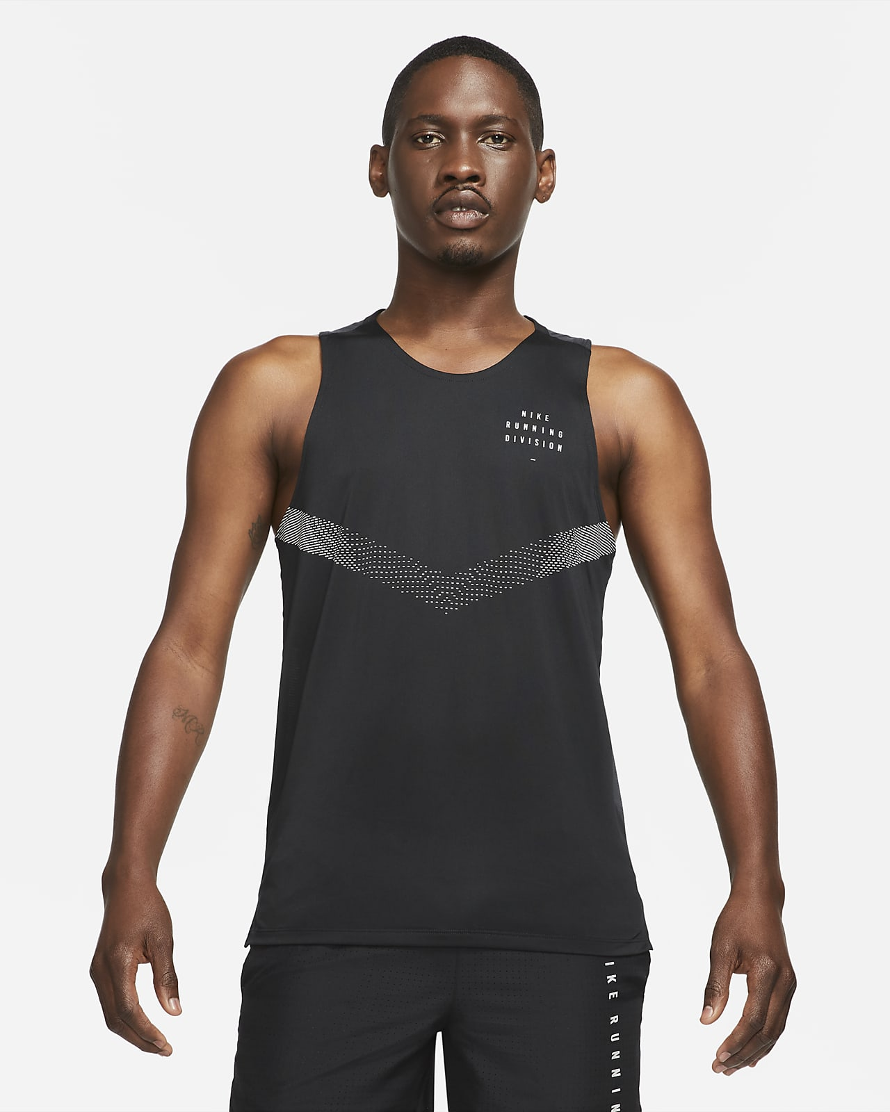 Camiseta de tirantes de running para hombre Nike Dri-FIT Rise 365 Run Division