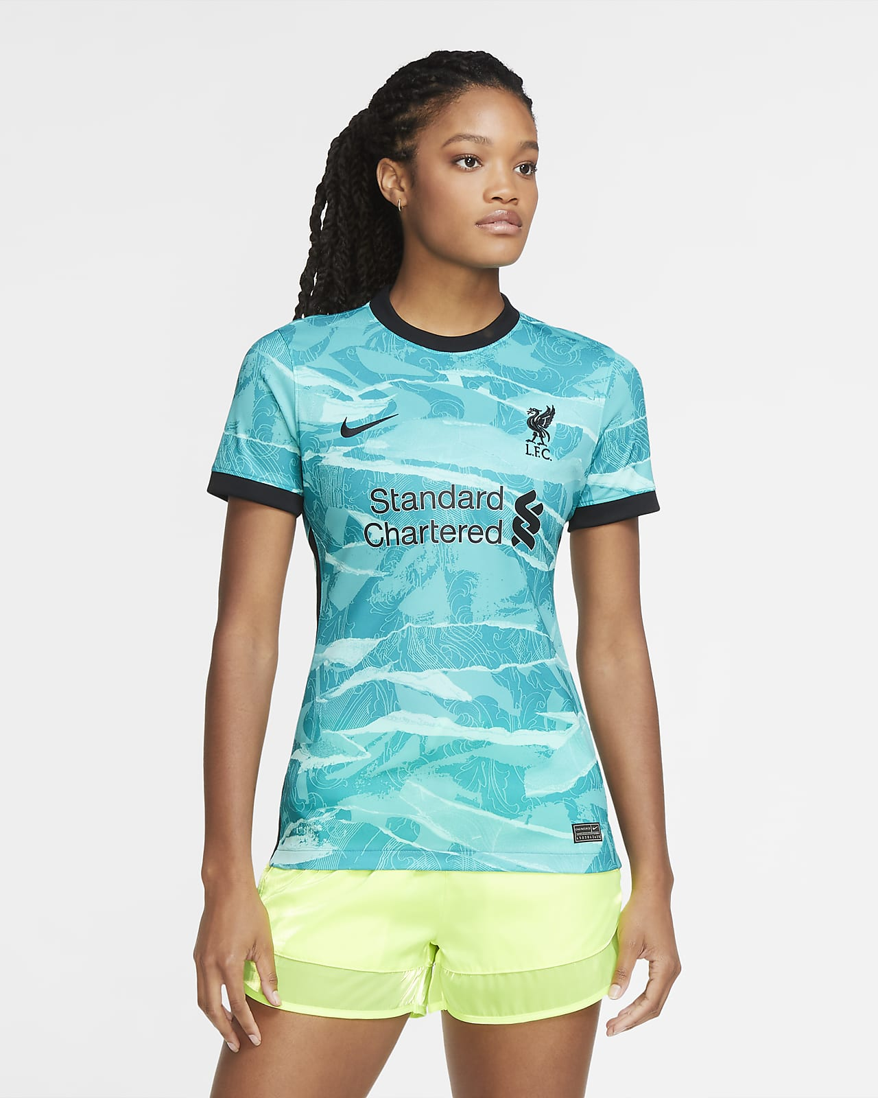 Liverpool away youth soccer uniform