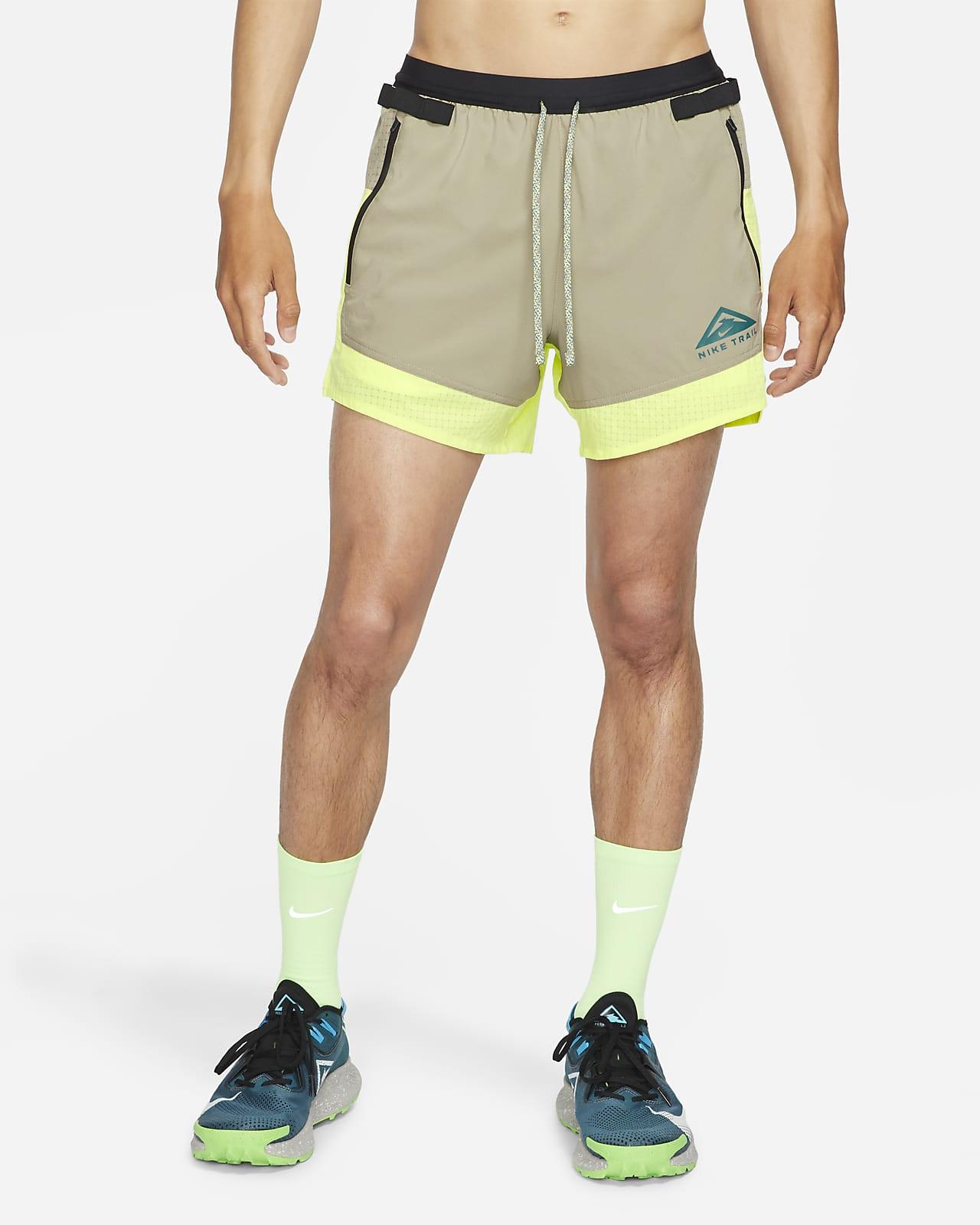 กางเกงวิ่งเทรลขาสั้นผู้ชาย Nike Dri-FIT Flex Stride