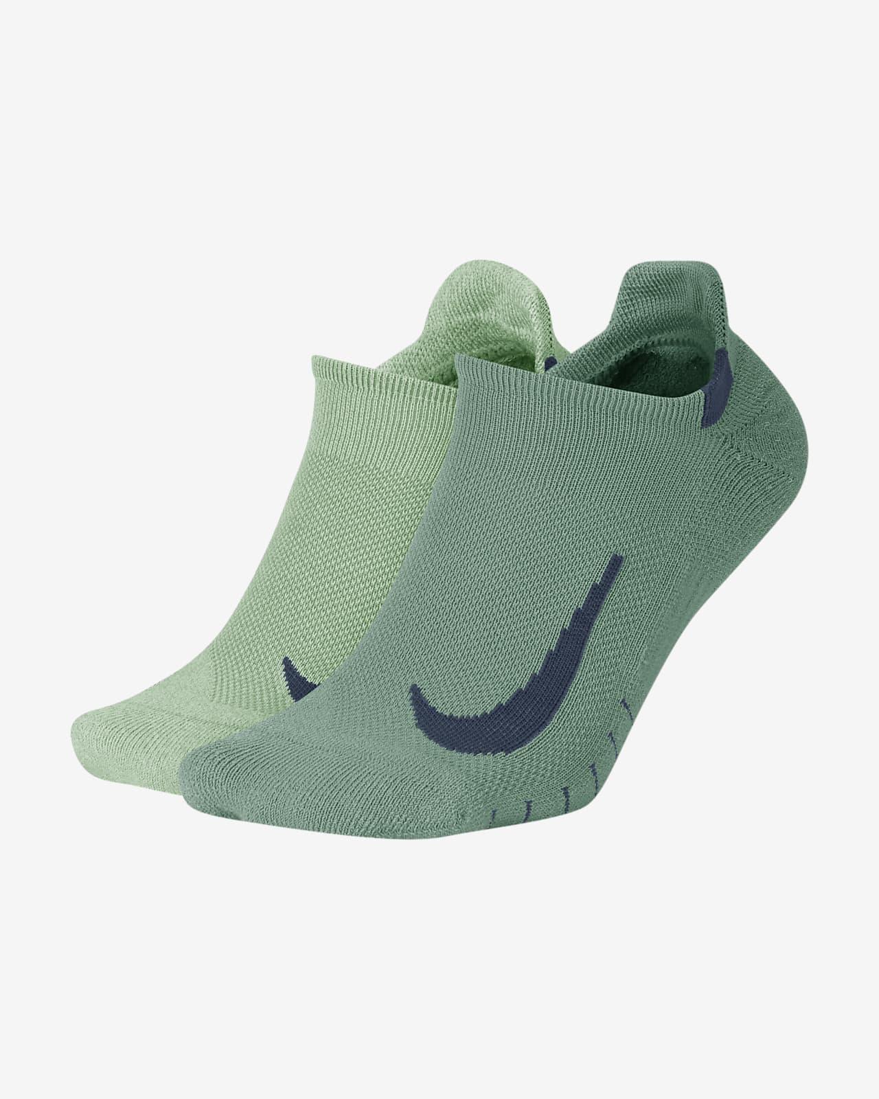 Nike Multiplier Running No-Show Socks