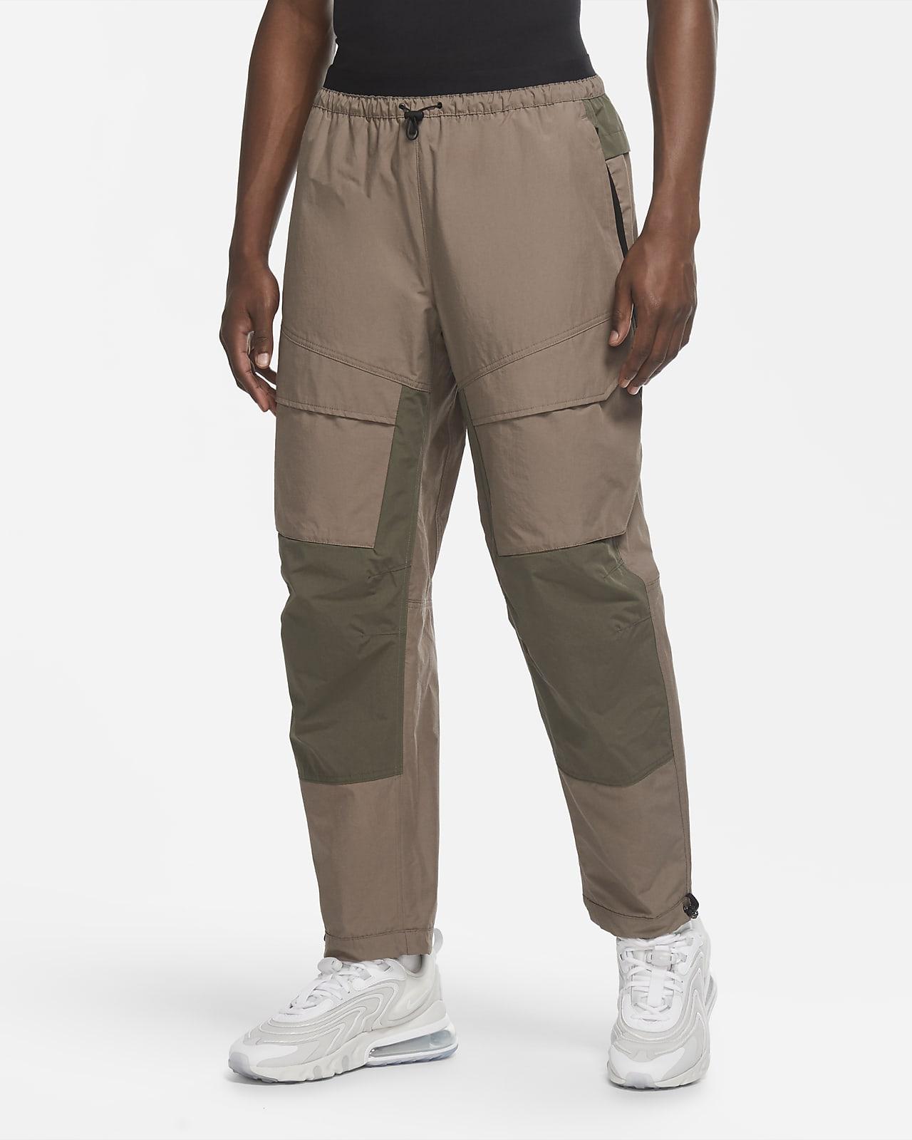 Męskie spodnie z tkaniny Nike Sportswear Tech Pack
