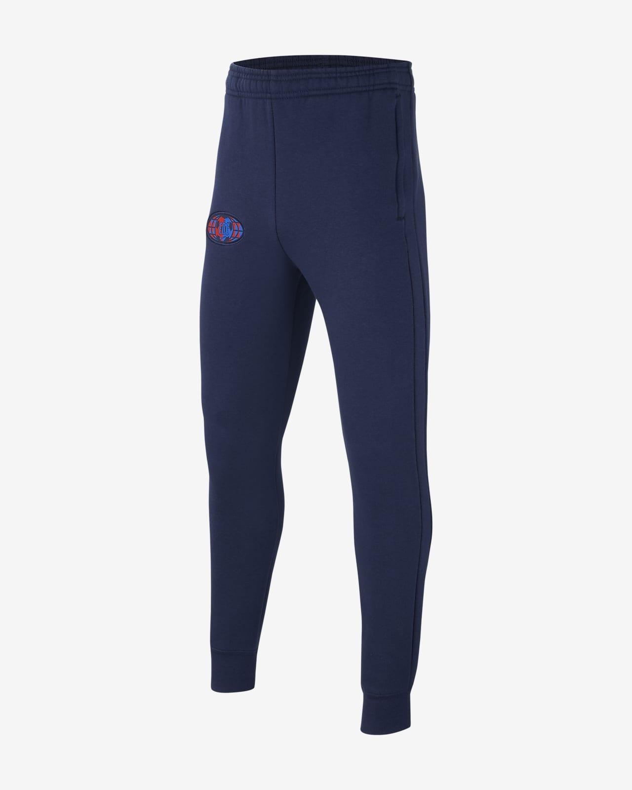 Pantalones de fútbol de tejido Fleece para niño talla grande Inglaterra