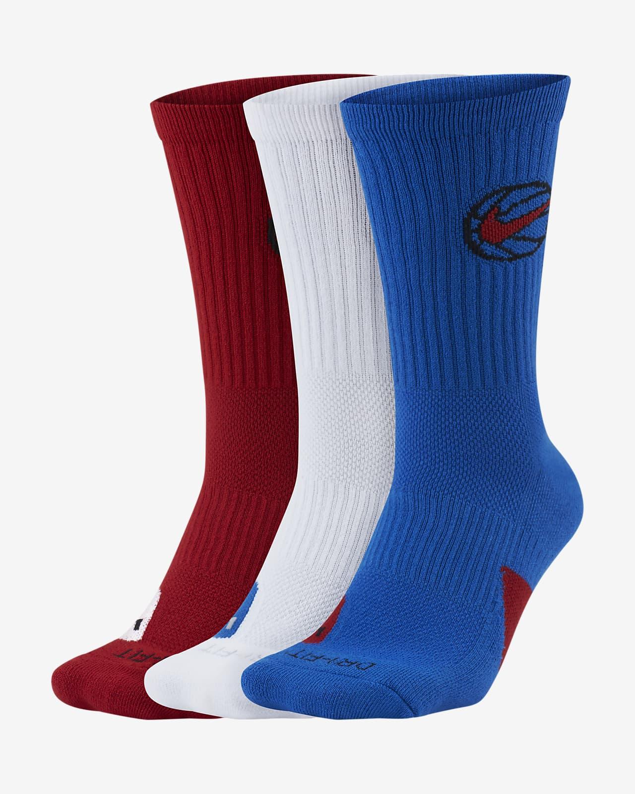 Nike Everyday Crew Basketball Socks (3 Pair)