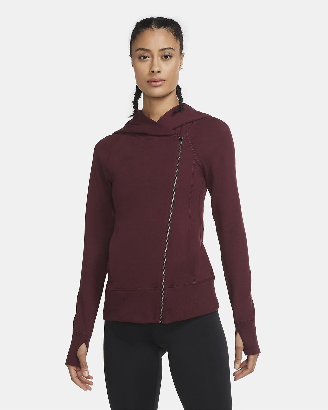 Nike Yoga Dessuadora amb caputxa i cremallera completa - Dona