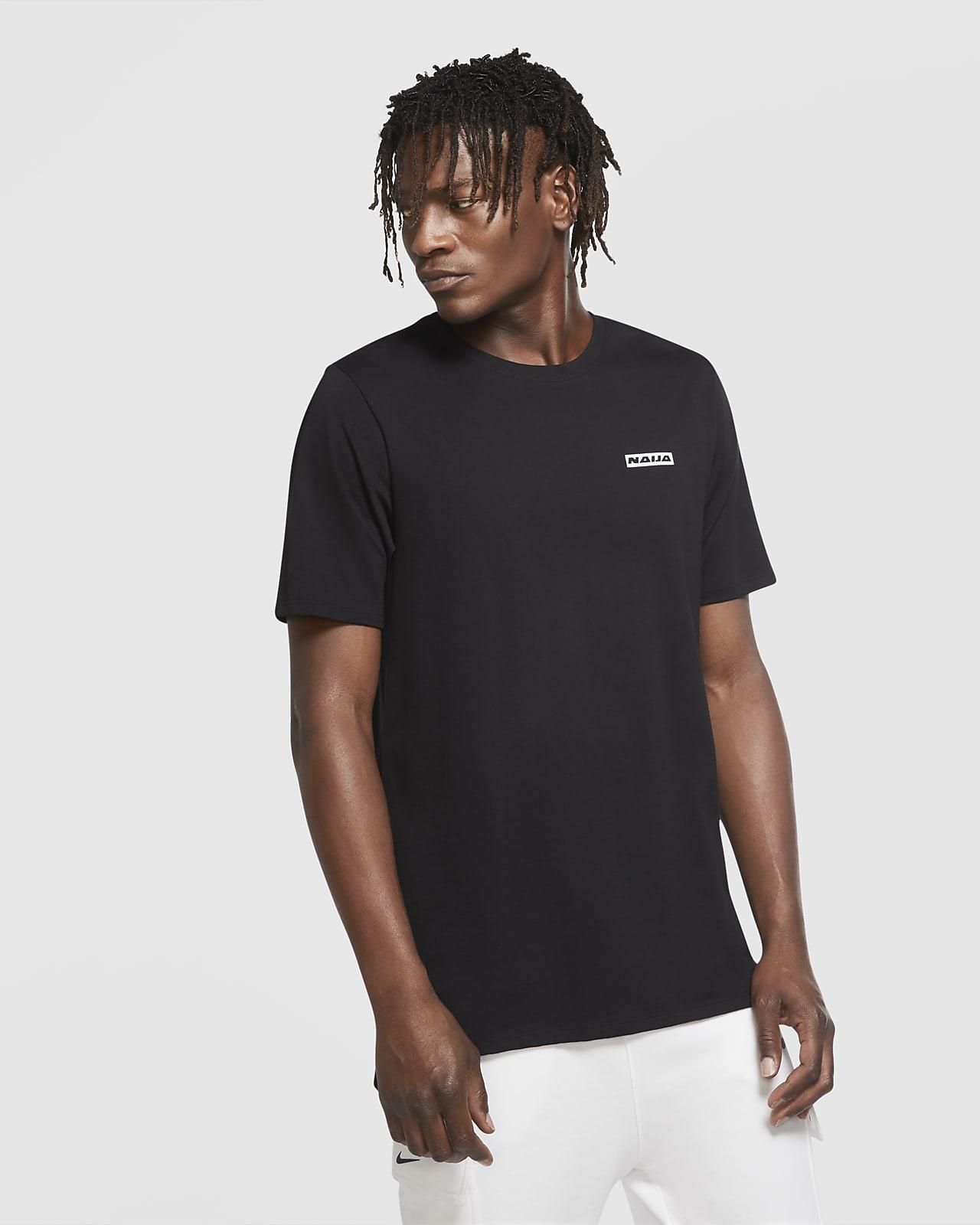 Nigeria-fodbold-T-shirt til mænd