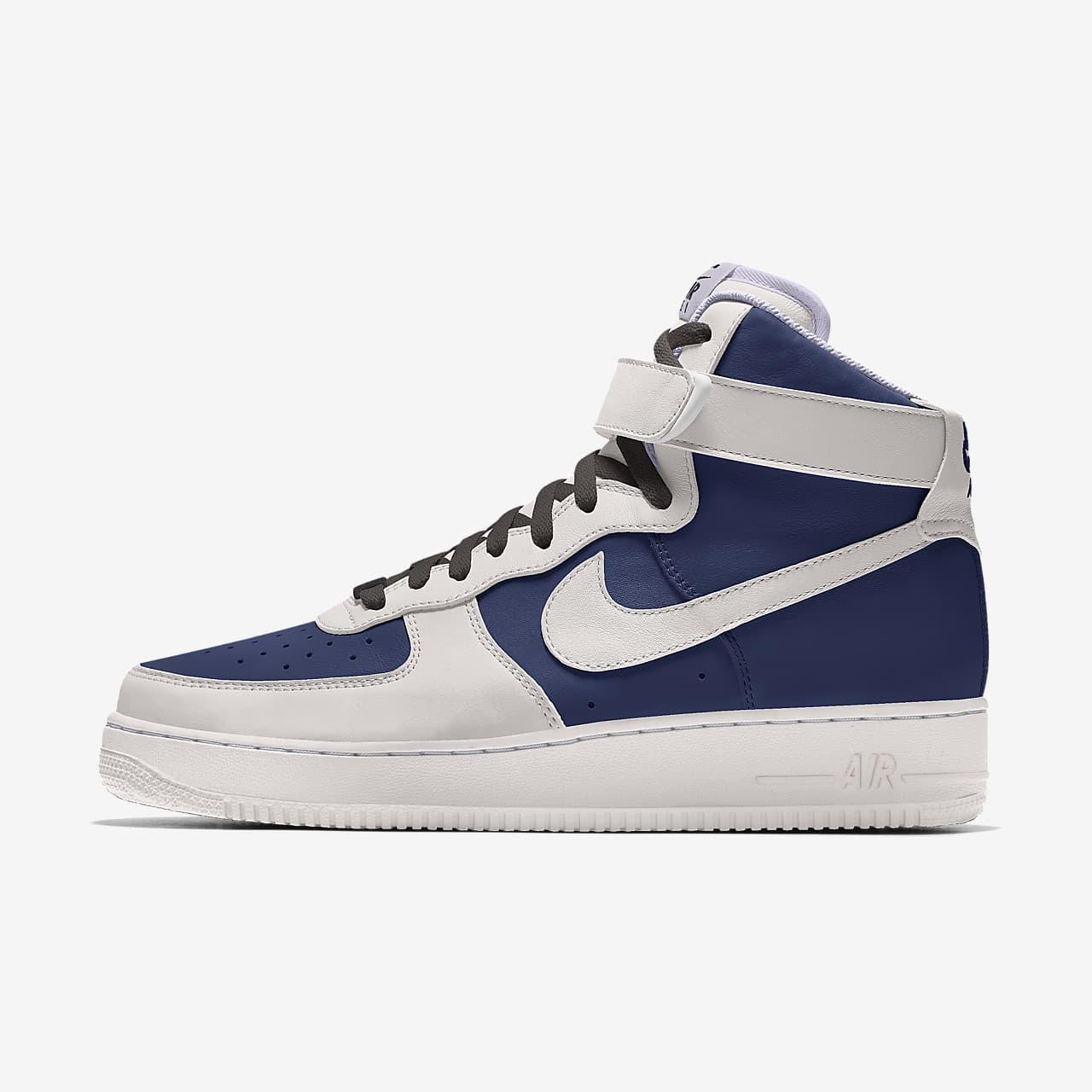 Damskie personalizowane buty Nike Air Force 1 High By You
