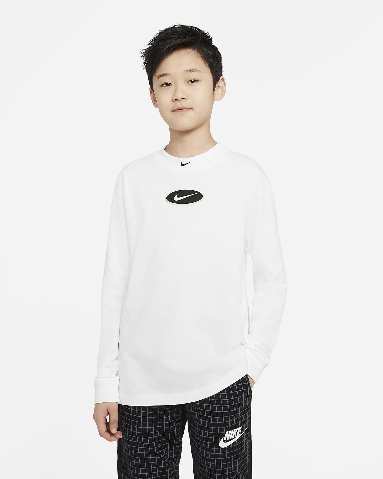 Μακρυμάνικο T-Shirt Nike Sportswear για μεγάλα αγόρια
