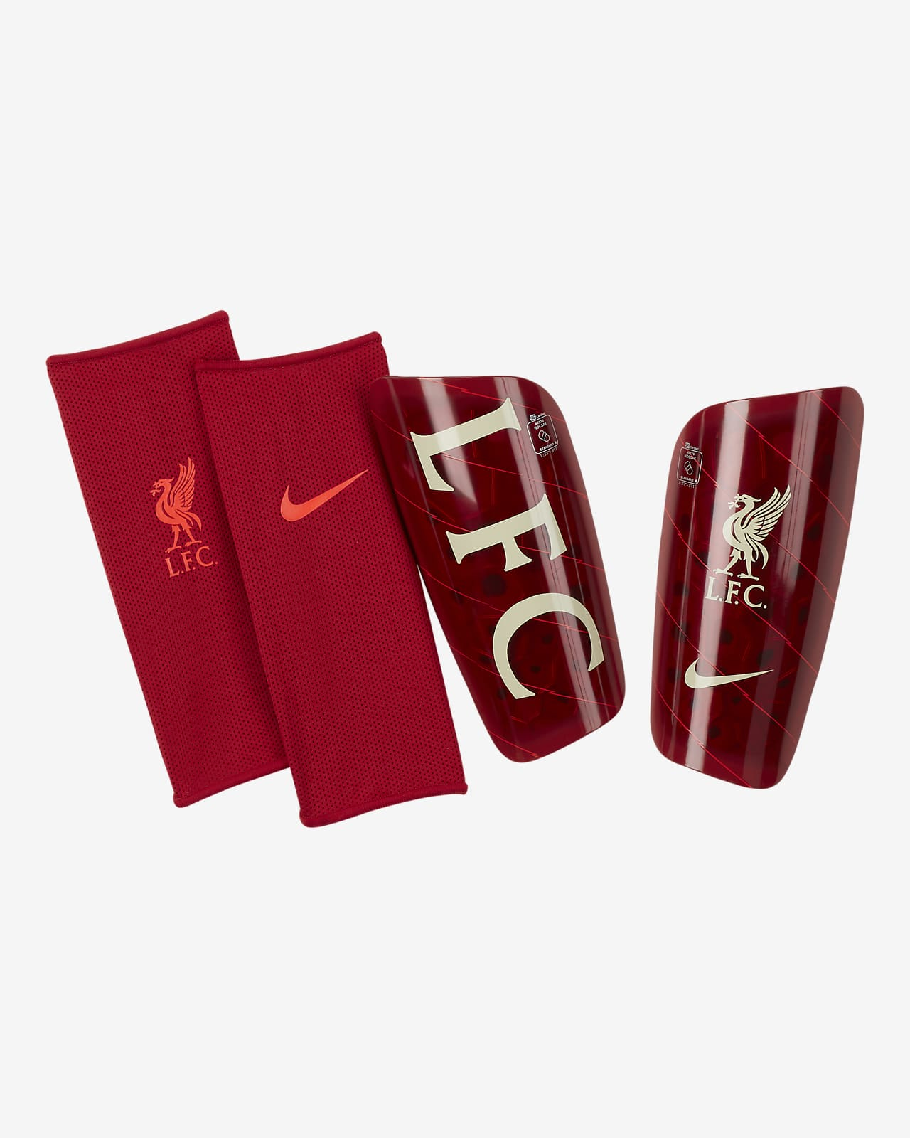 Protège-tibias de football Liverpool FC Mercurial Lite