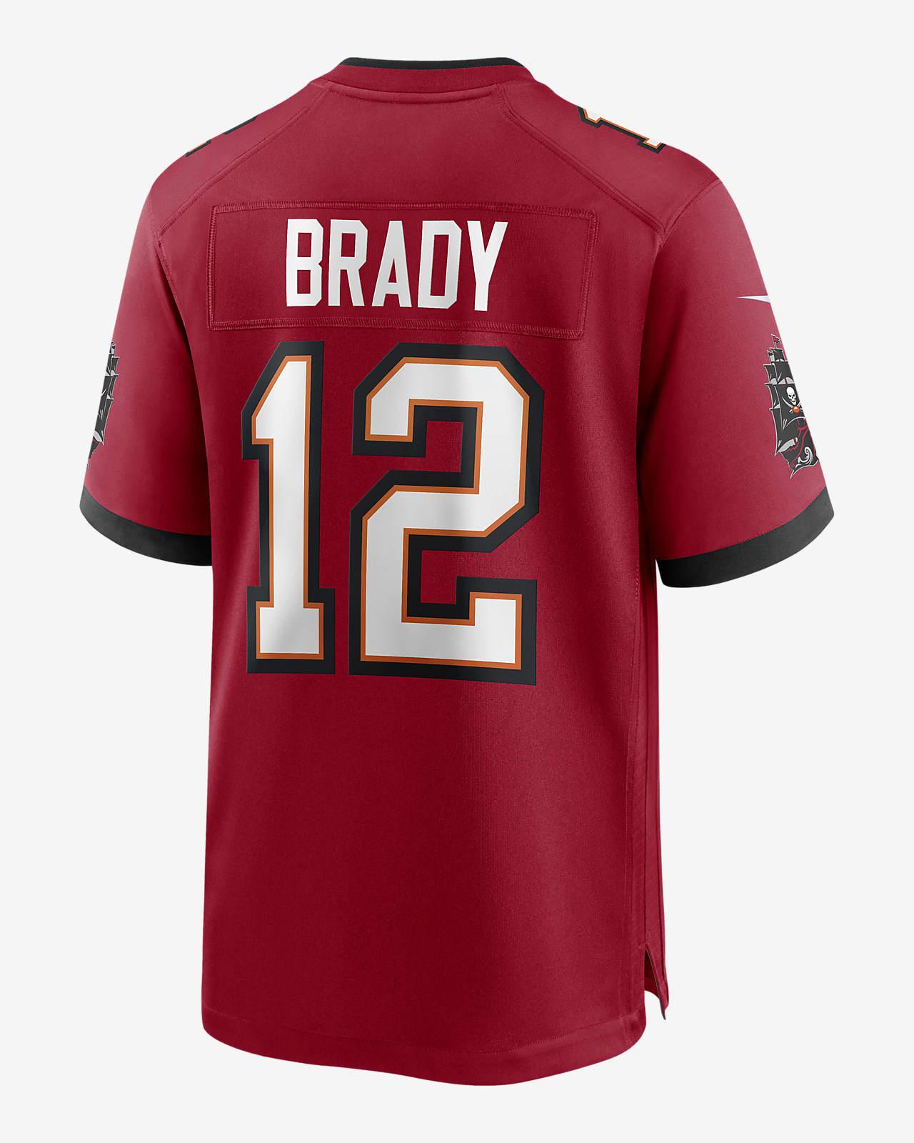 juego frecuentemente Amplia gama  Camiseta game para hombre NFL Tampa Bay Buccaneers (Tom Brady). Nike.com