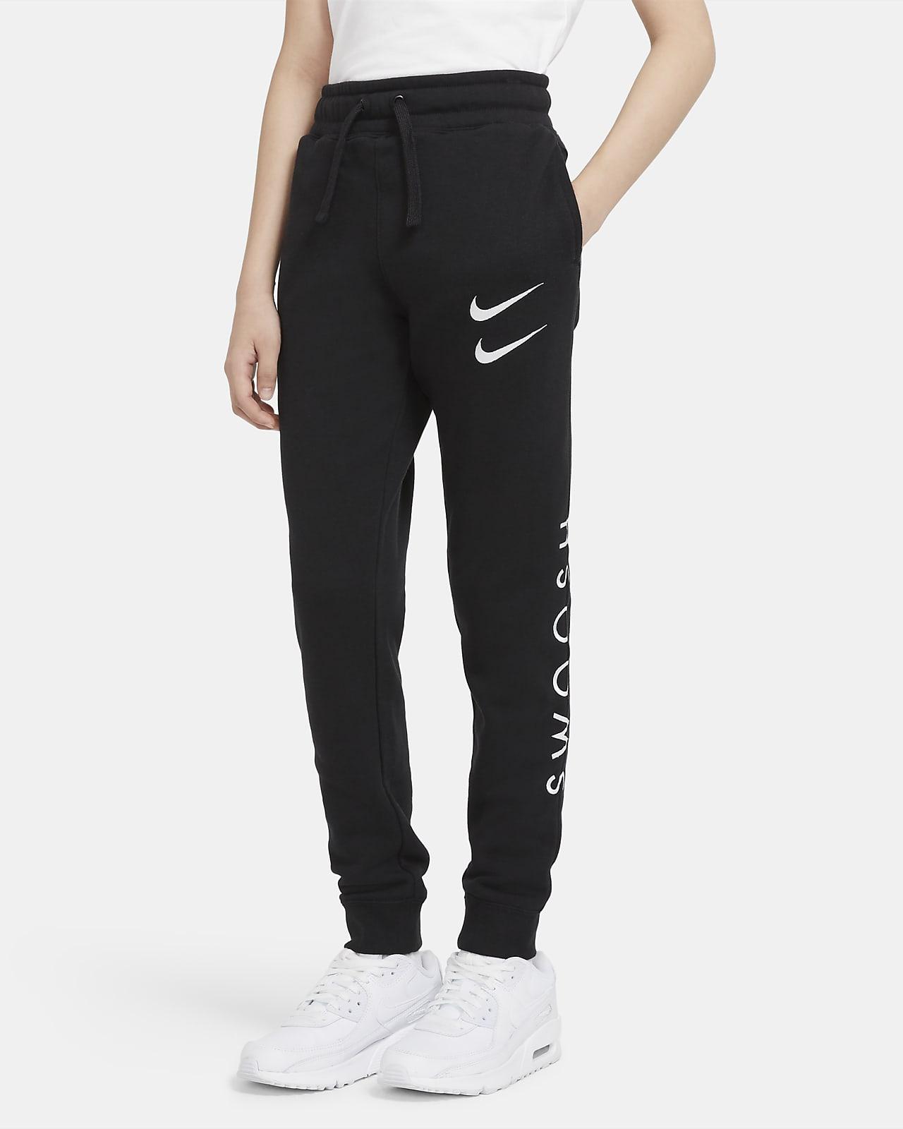 Pantalones para niño talla grande Nike Sportswear Swoosh