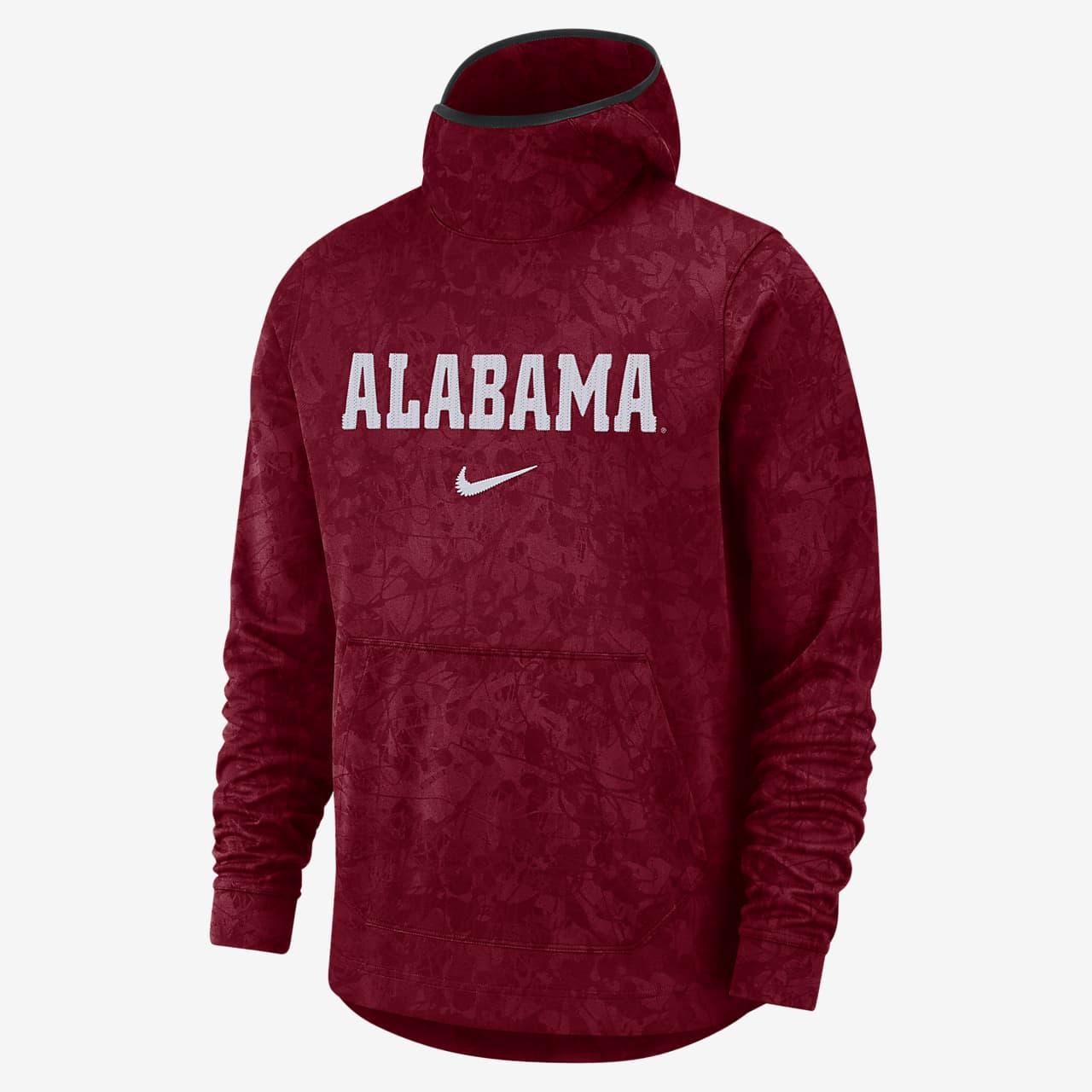 Nike College Dri-FIT Spotlight (Alabama) Men's Pullover Basketball Hoodie