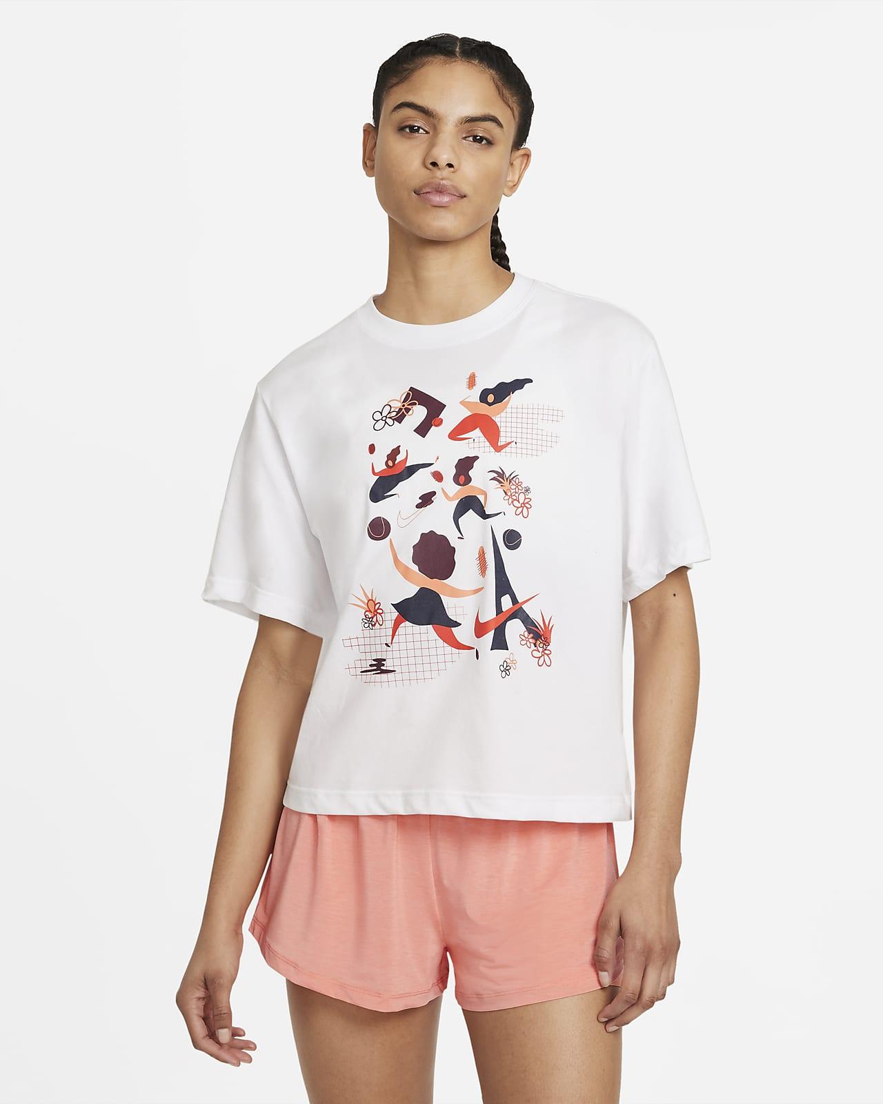 T-shirt de ténis NikeCourt Dri-FIT para mulher