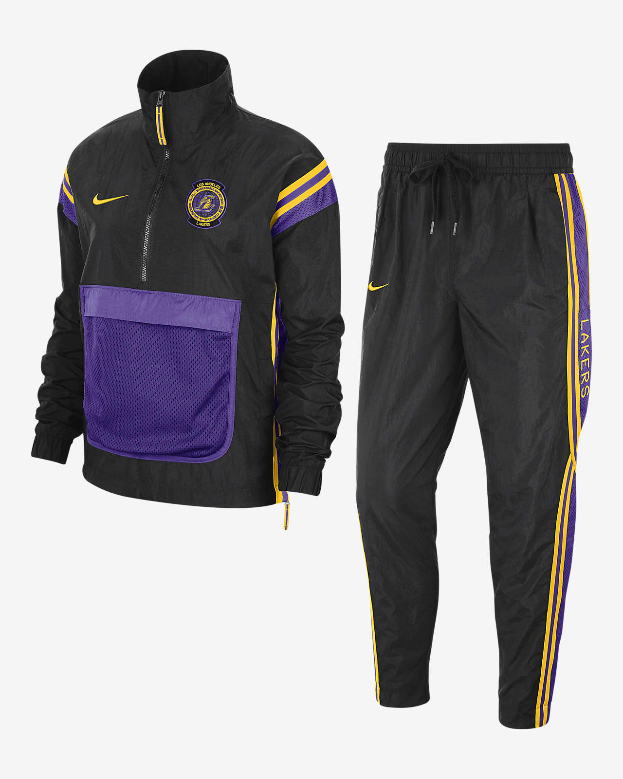 Lakers Courtside Nike NBA-tracksuit til kvinder