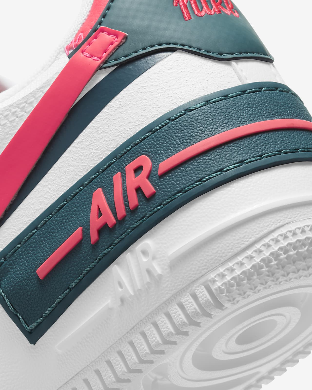 air force 1 shadow gialle fluo