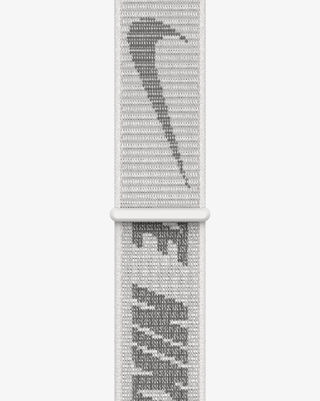 45mm Summit White Nike Sport Loop - Regular