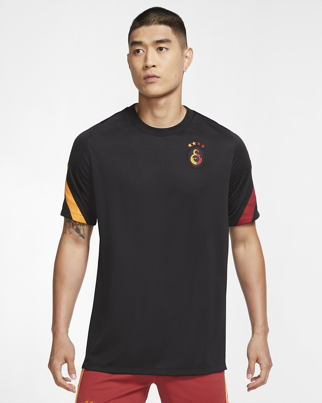 Galatasaray Strike Men's Short-Sleeve Football Top