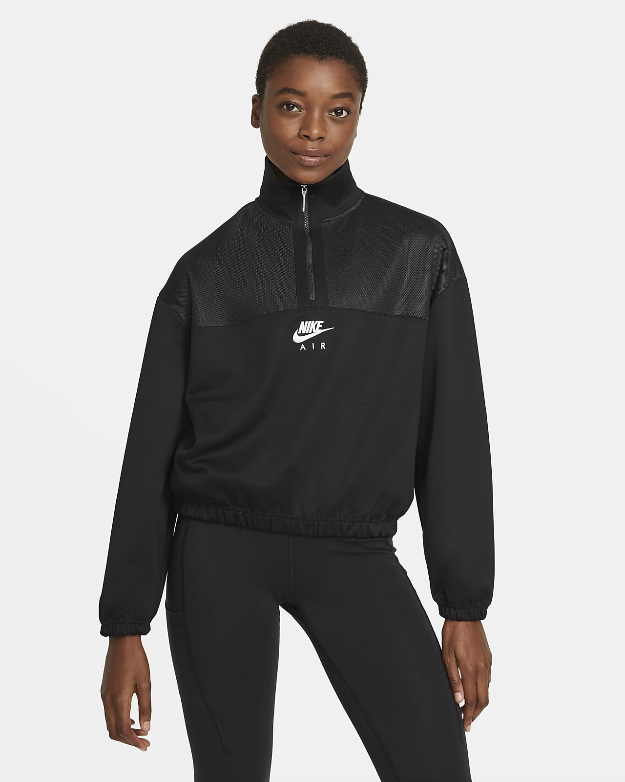 Nike Air Damen-Hoodie mit Viertelreißverschluss