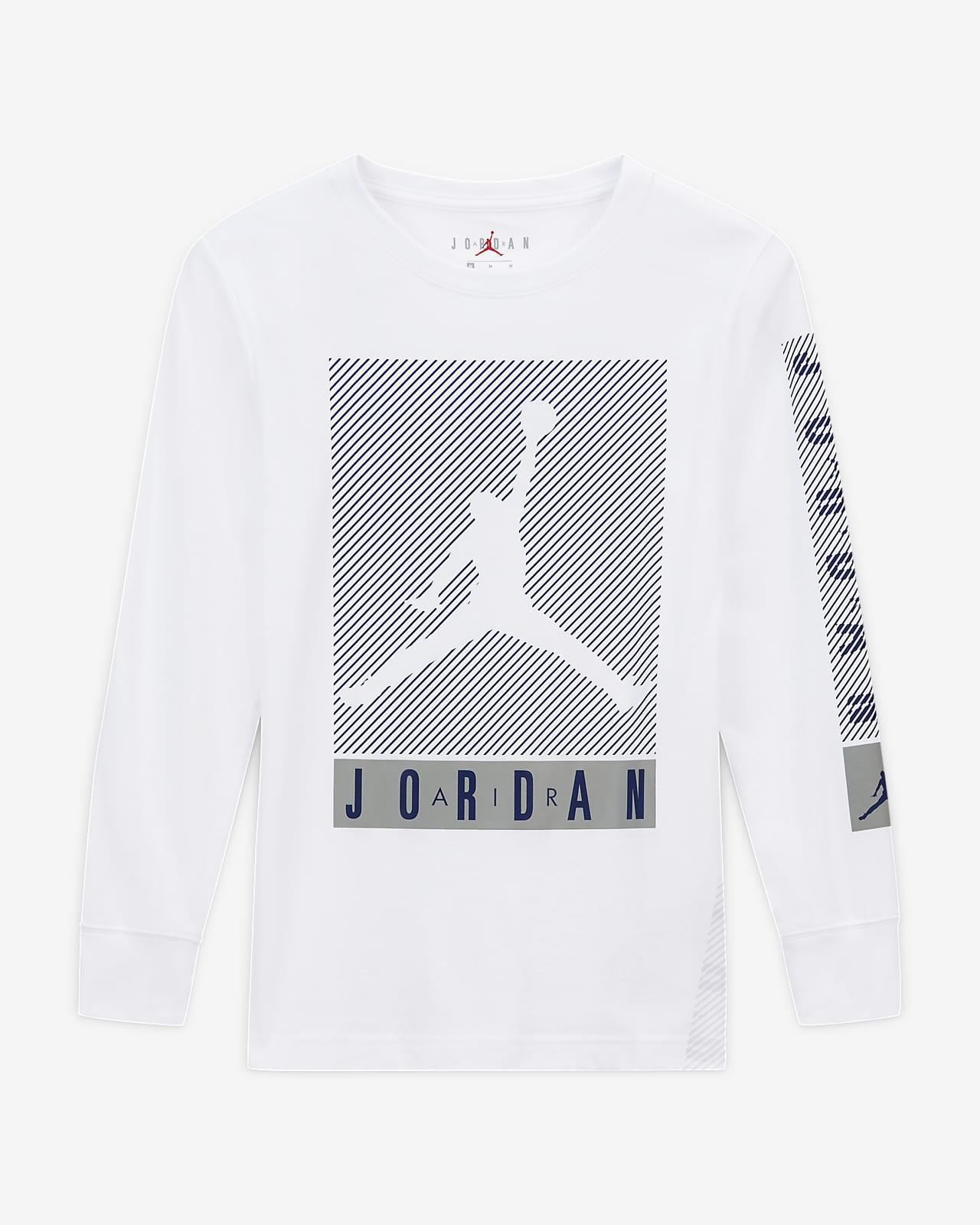 Jordan Big Kids' (Boys') Long-Sleeve T-Shirt