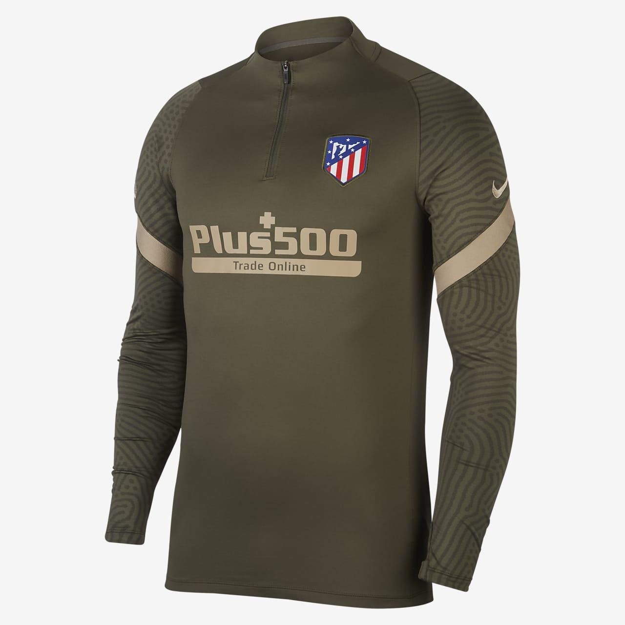 Fotbollsträningströja Atlético de Madrid Strike för män