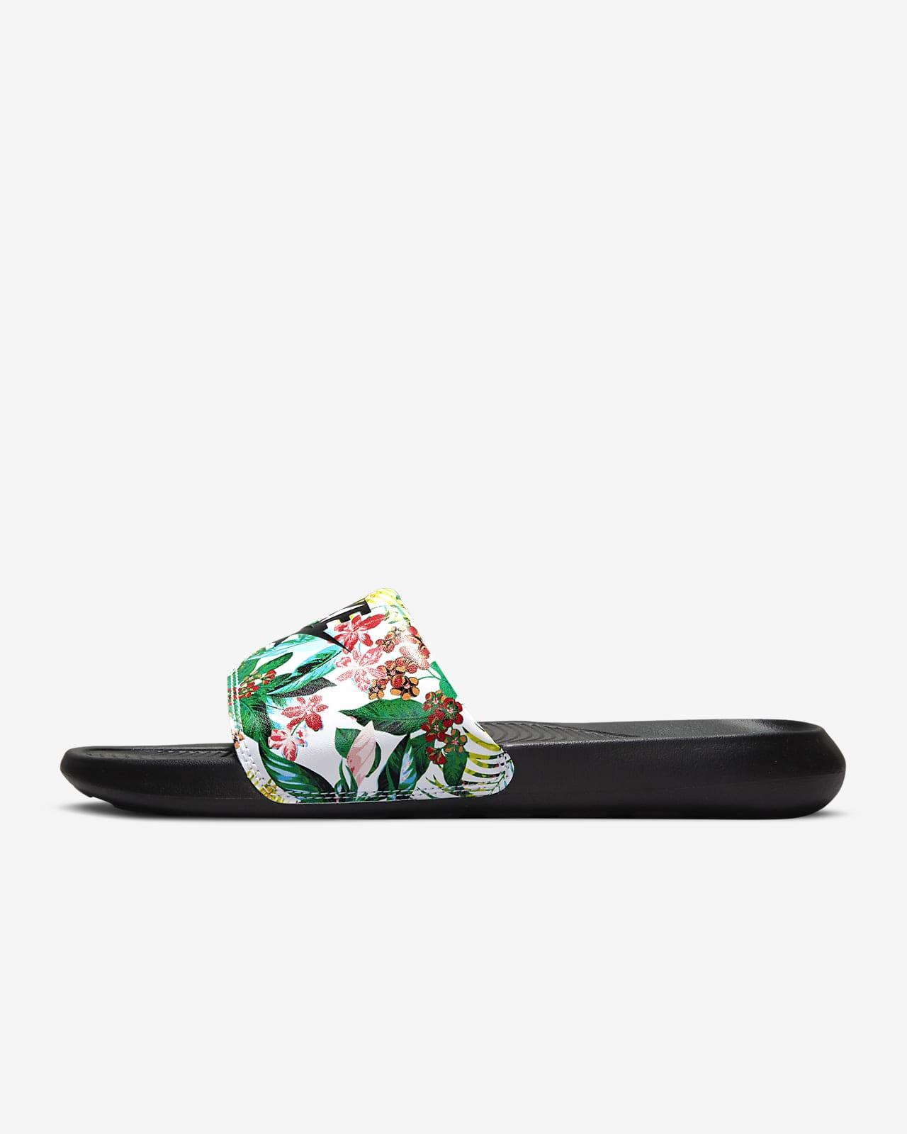Badtoffel med tryck Nike Victori One för kvinnor