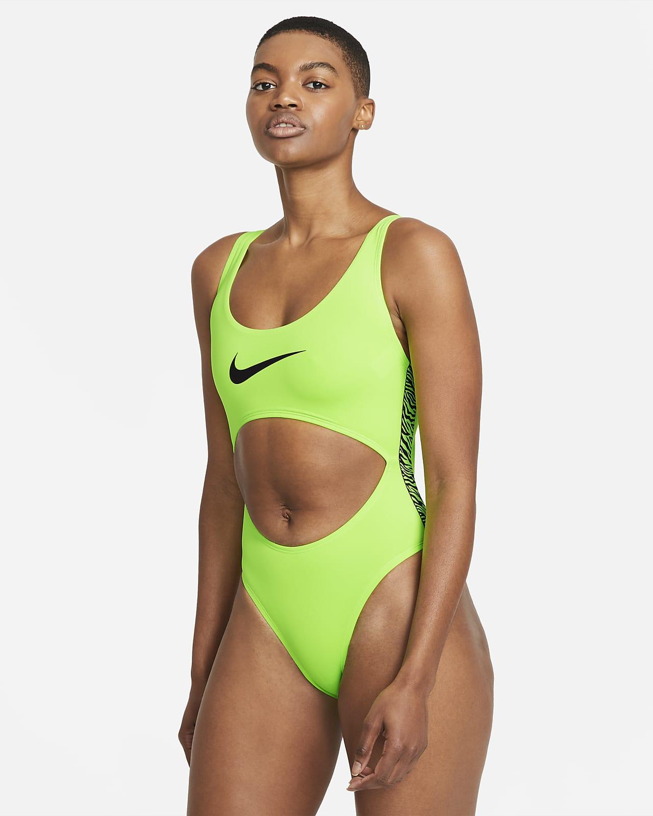 Nike Wild Women's Cut-Out 1-Piece Swimsuit