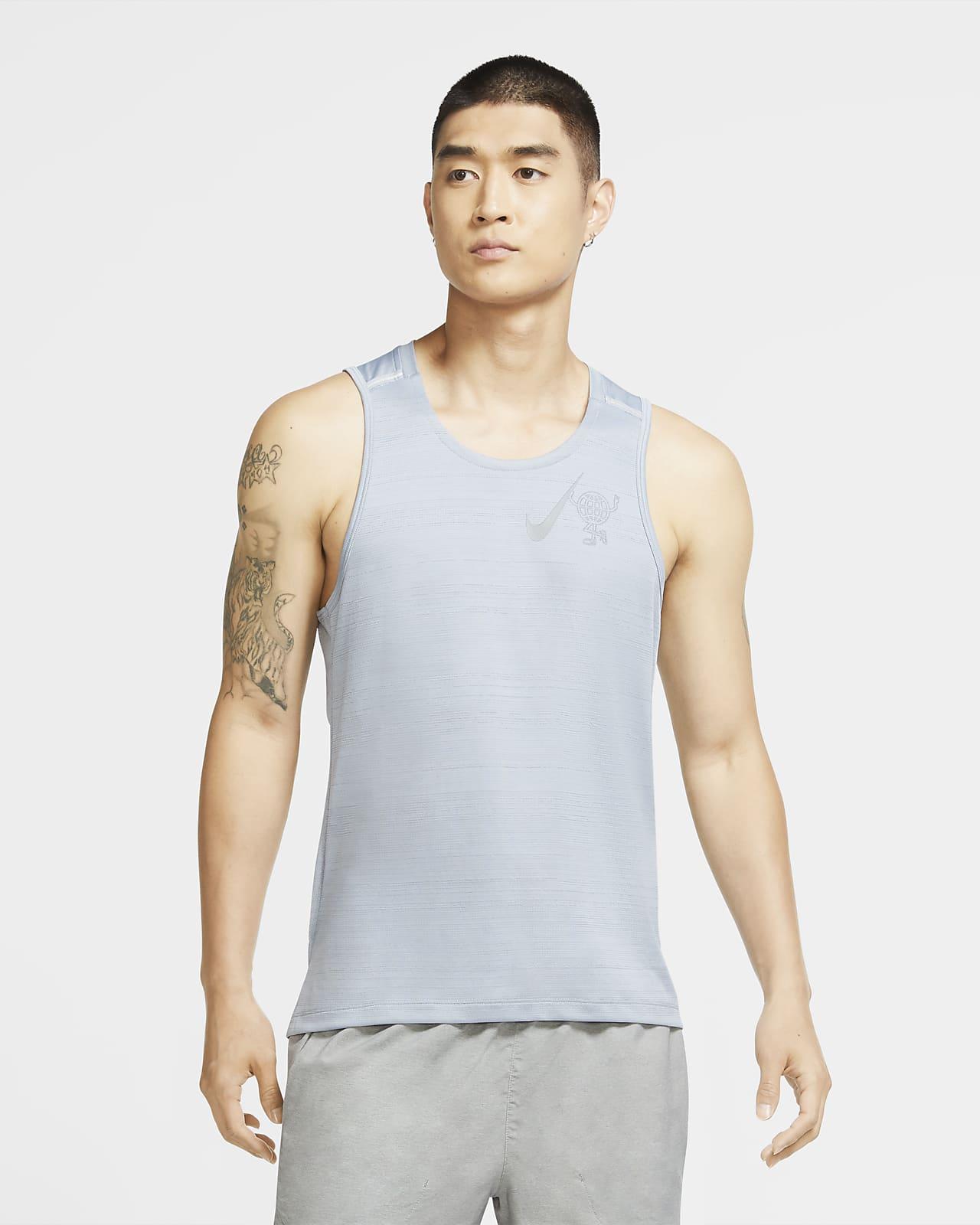 Nike Dri-FIT Miler Wild Run Men's Running Tank