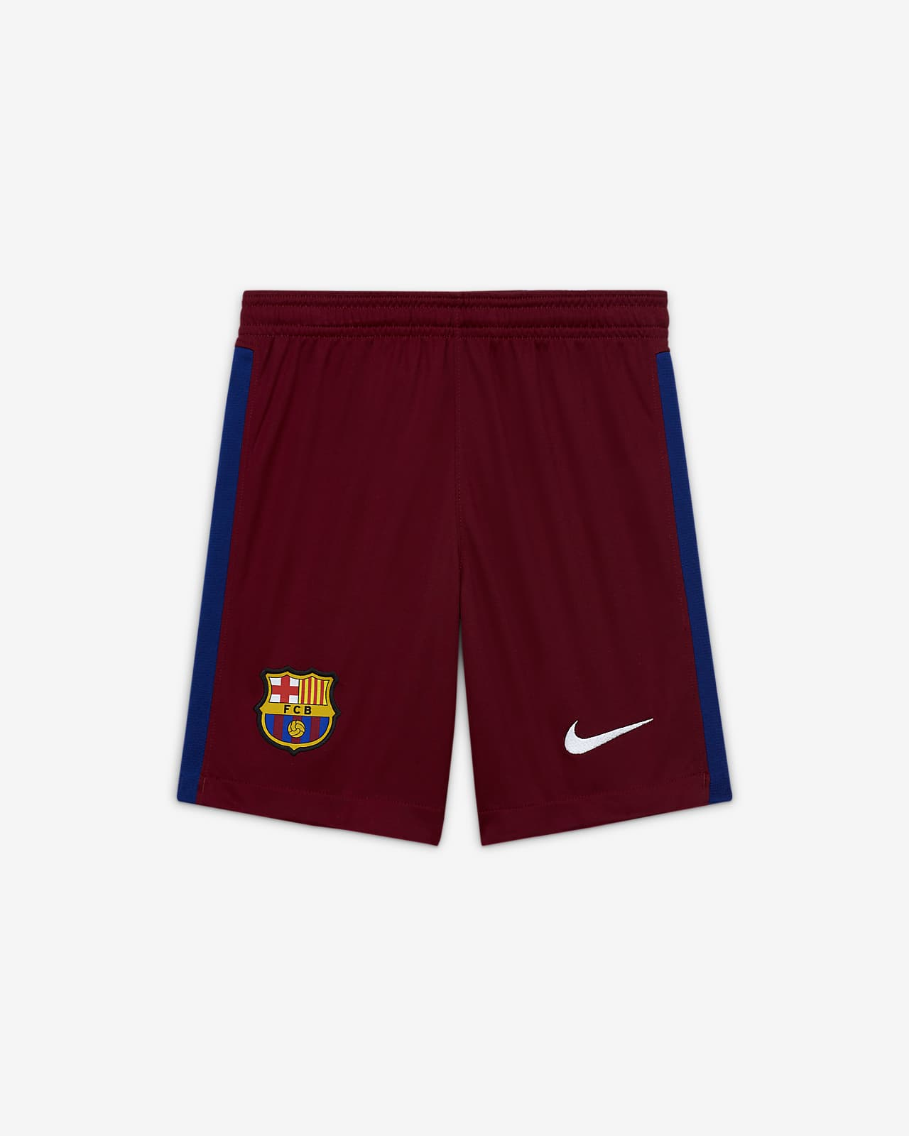 F.C. Barcelona 2020/21 Stadium Goalkeeper Older Kids' Football Shorts