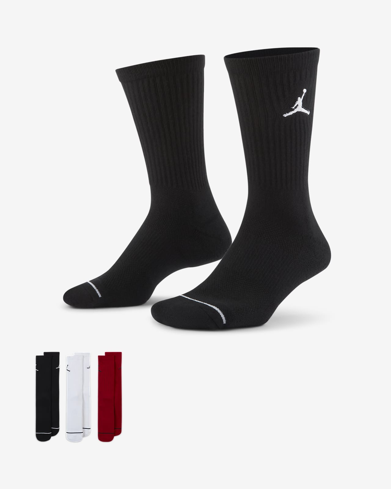Calcetines largos unisex Jordan Everyday Max (3 pares)