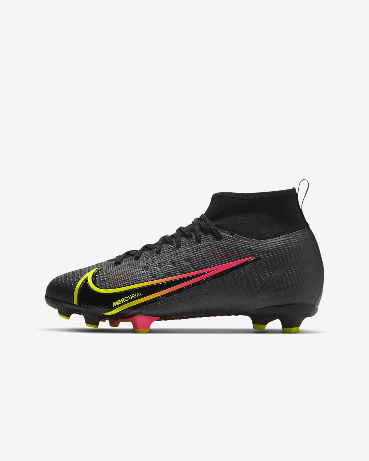 Chaussure de football à crampons pour terrain sec Nike Jr. Mercurial Superfly 8 Pro FG pour Jeune enfant/Enfant plus âgé