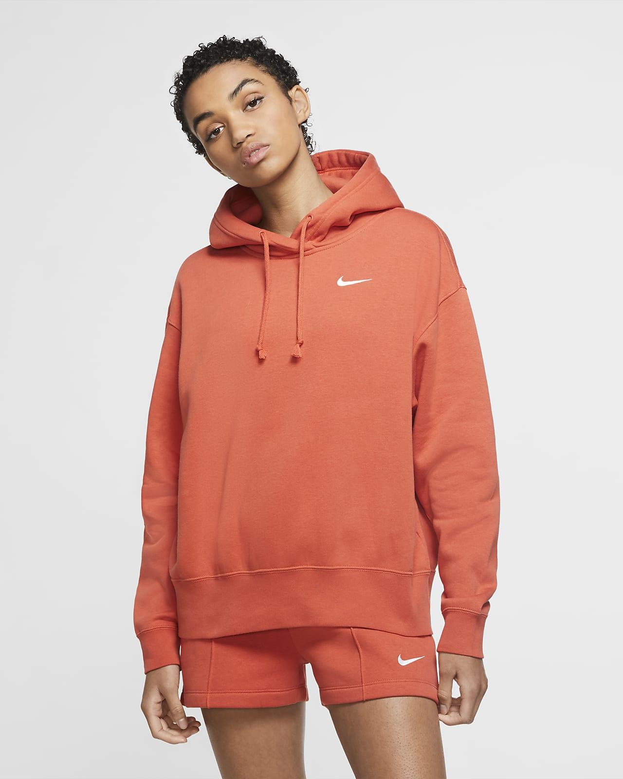 Felpa in fleece con cappuccio Nike Sportswear - Donna