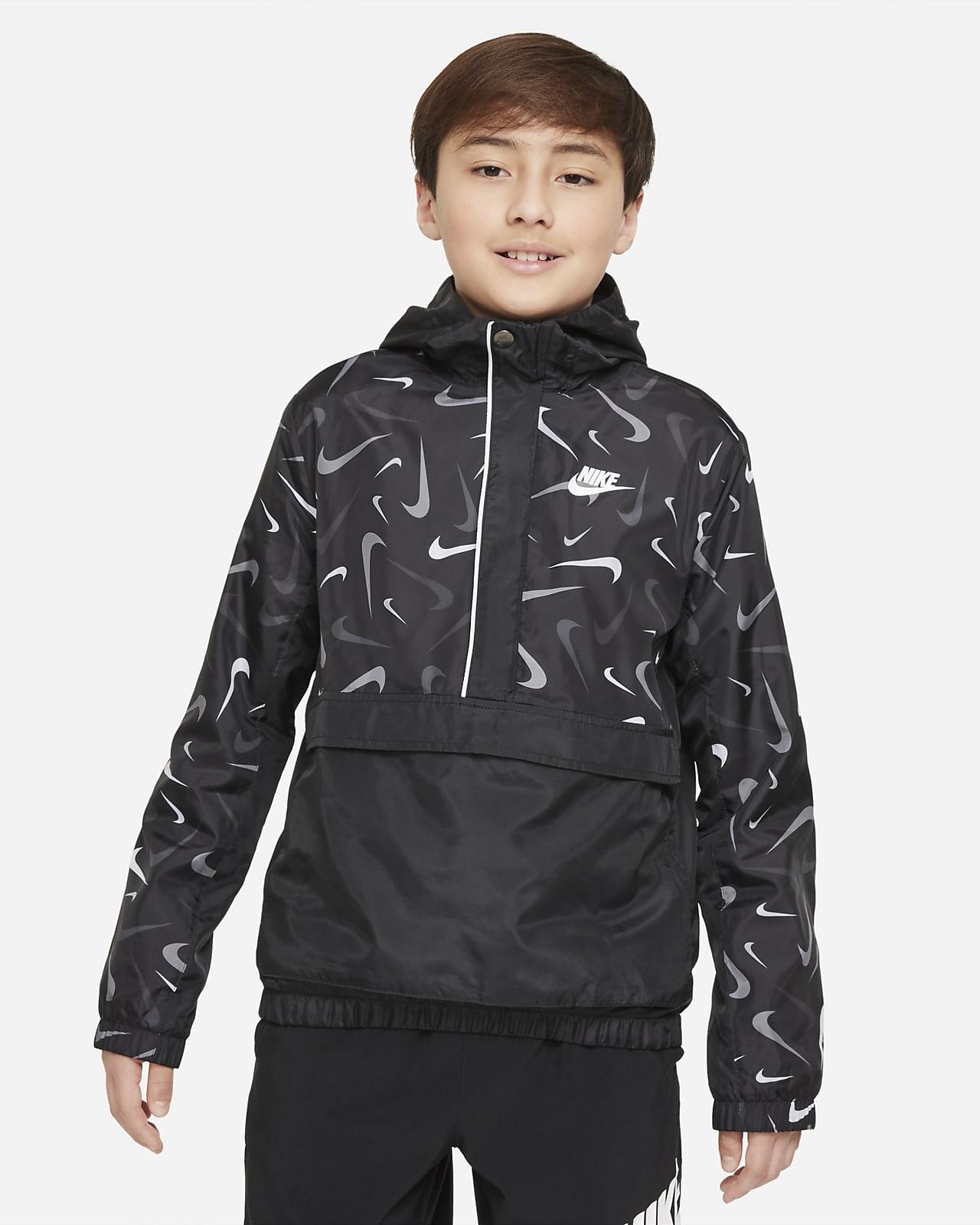 Nike Sportswear Jaqueta anorac de teixit Woven amb estampat - Nen