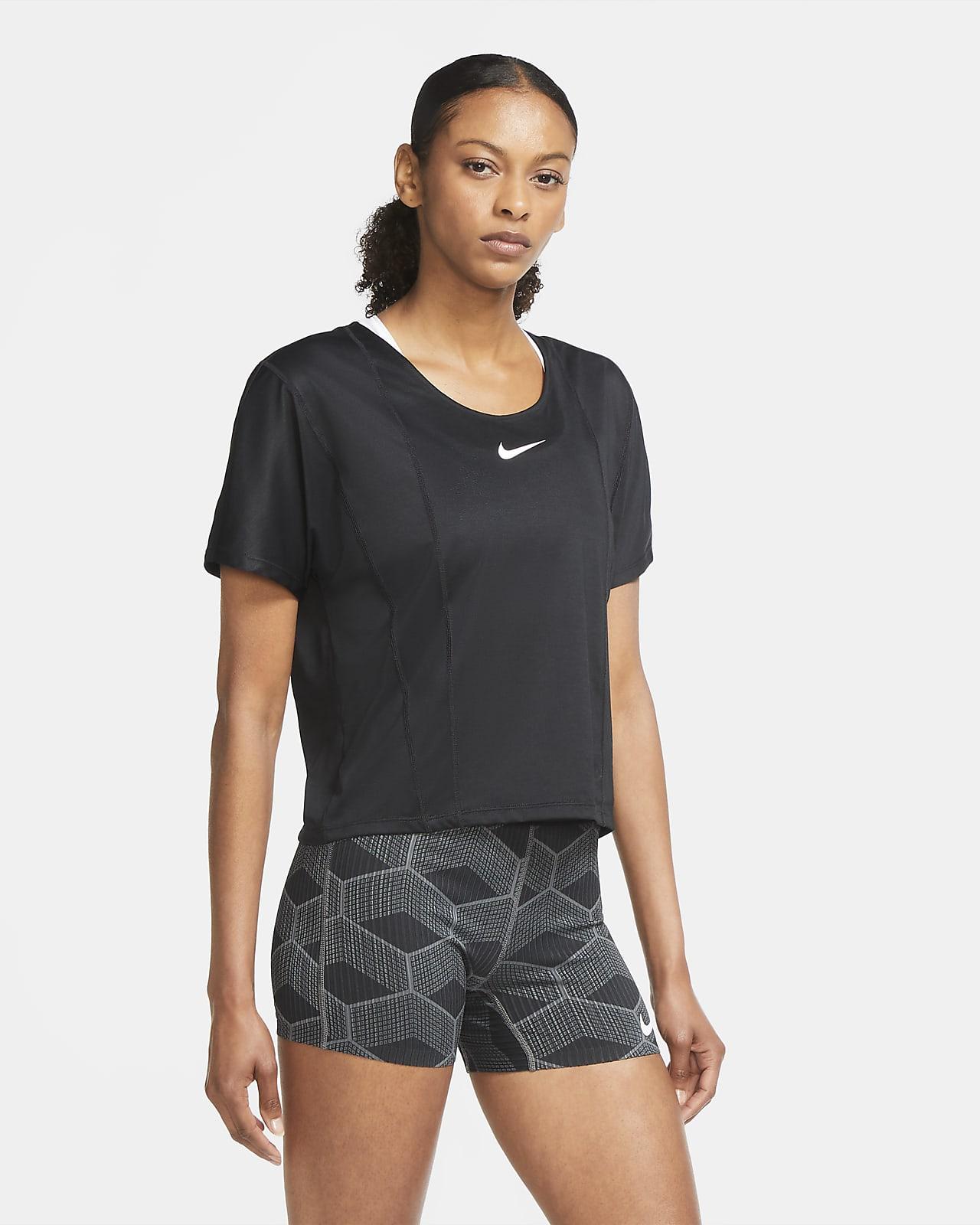 Camiseta de running para mujer Nike Icon Clash City Sleek