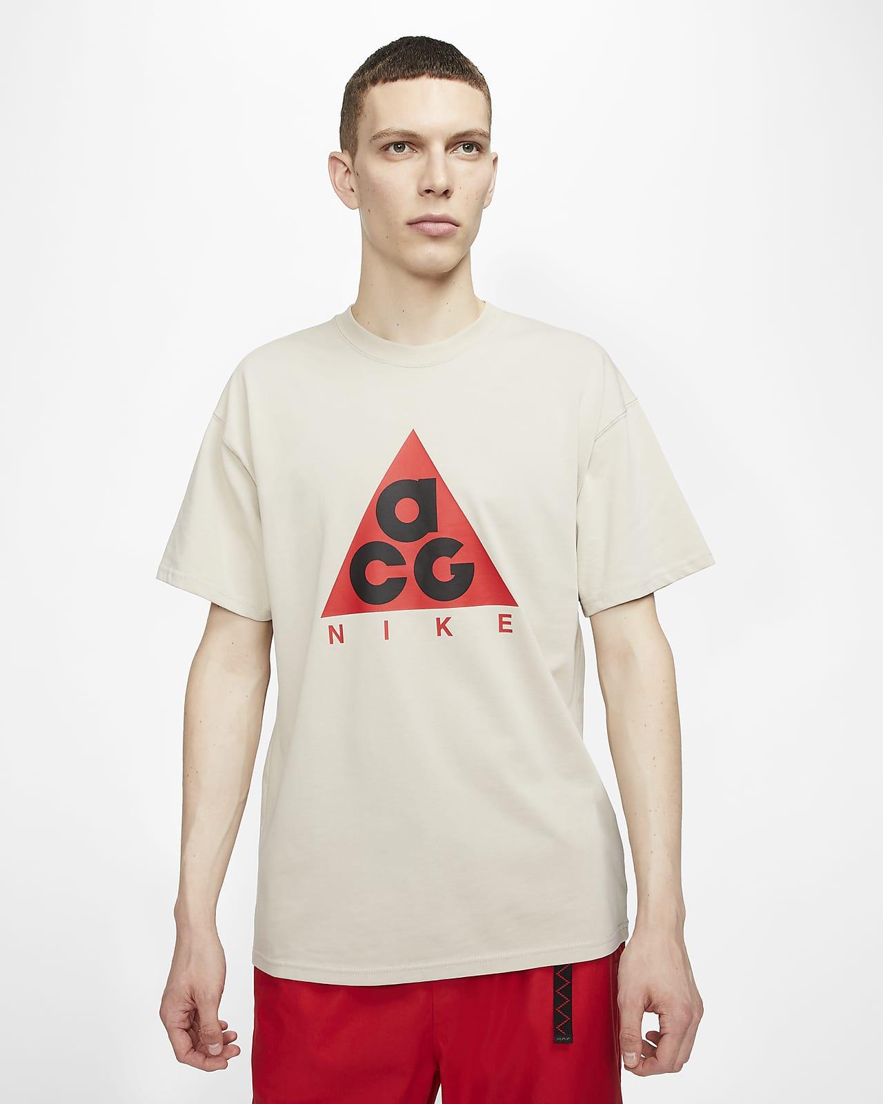 Męski T-shirt z nadrukiem Nike ACG