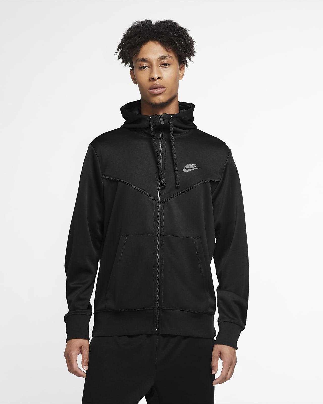Ανδρική μπλούζα με κουκούλα και φερμουάρ Nike Sportswear