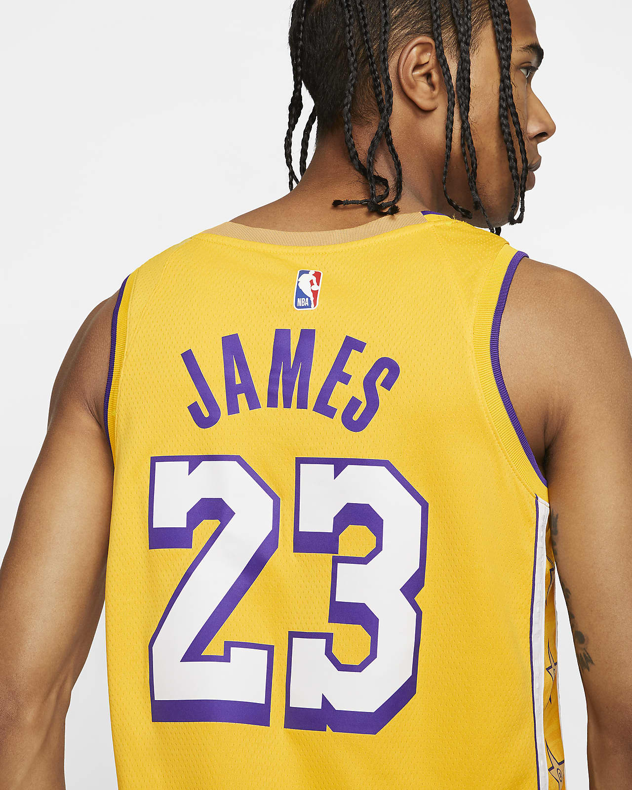 LeBron James Lakers – City Edition Nike NBA Swingman Jersey
