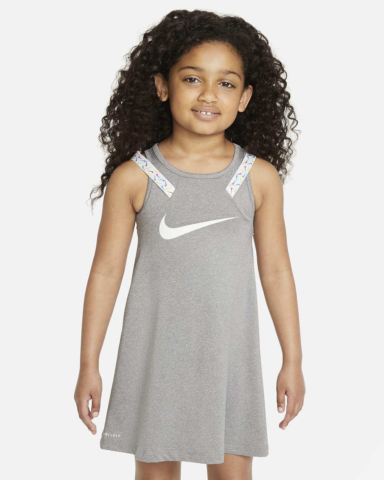 Vestido para niñas talla pequeña Nike Dri-FIT