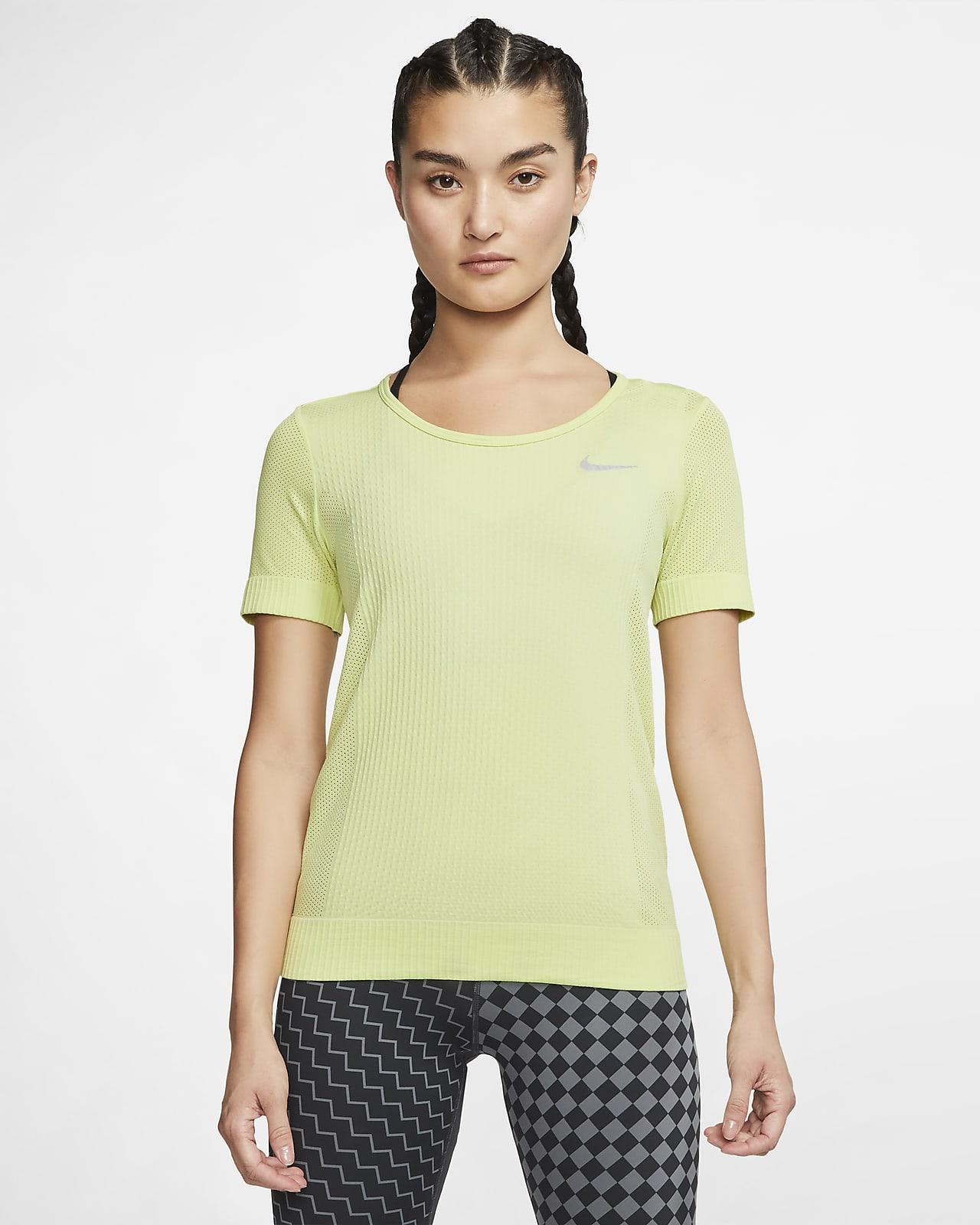 Nike Infinite rövid ujjú női futófelső