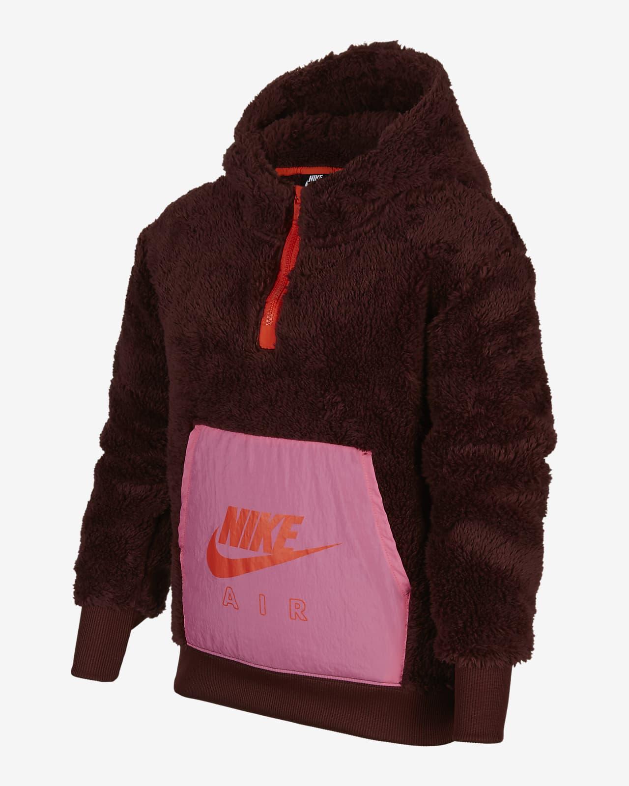 Nike Air 大童(女孩)连帽绒衫