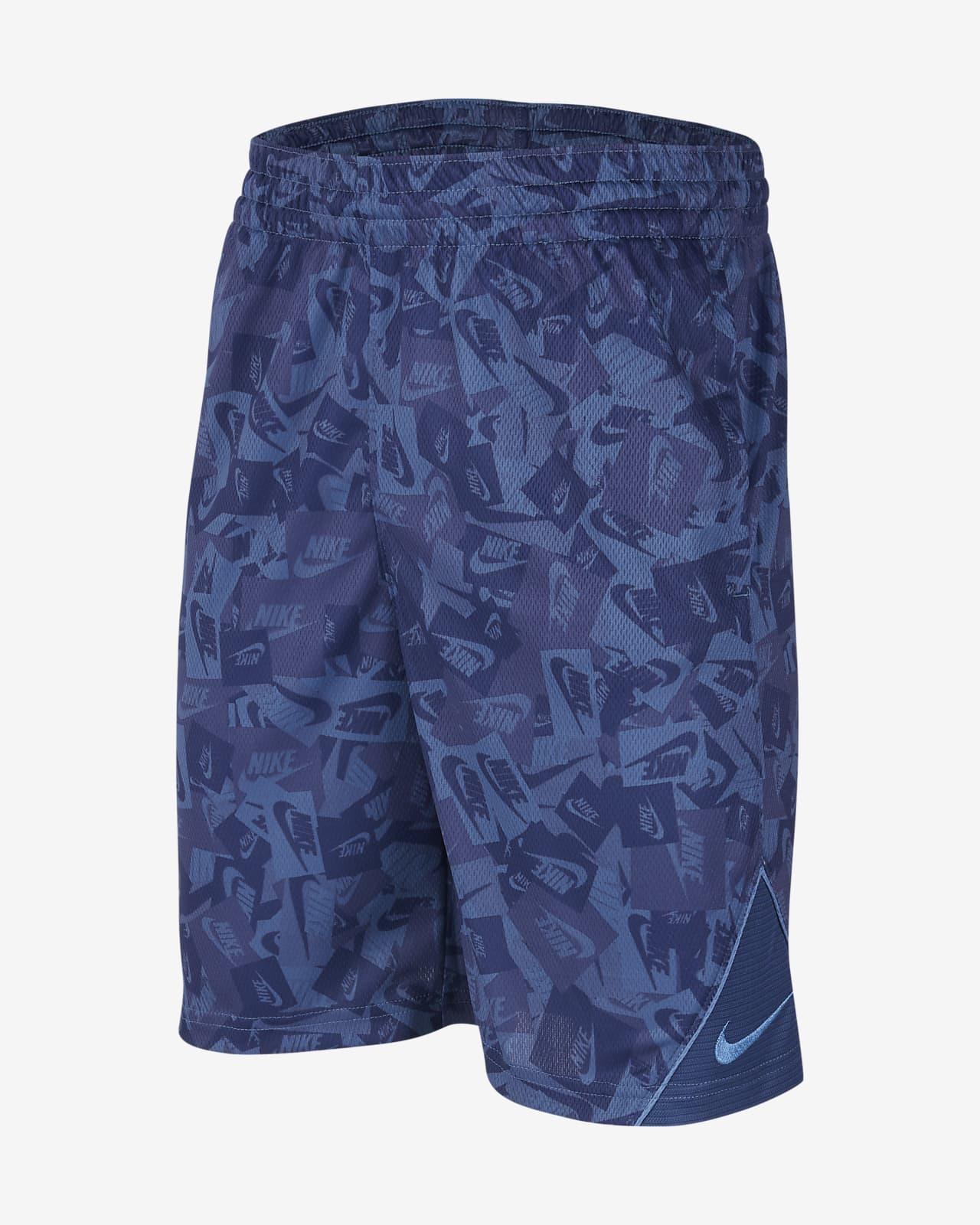 Shorts de básquetbol estampados para niño talla grande Nike