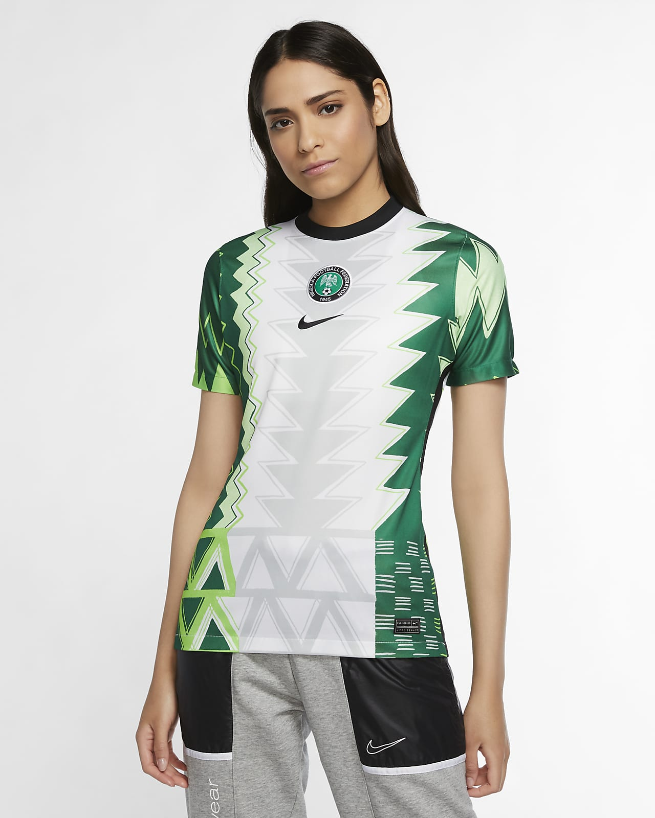 Nigeria 2020 Stadium Home Women's Football Shirt
