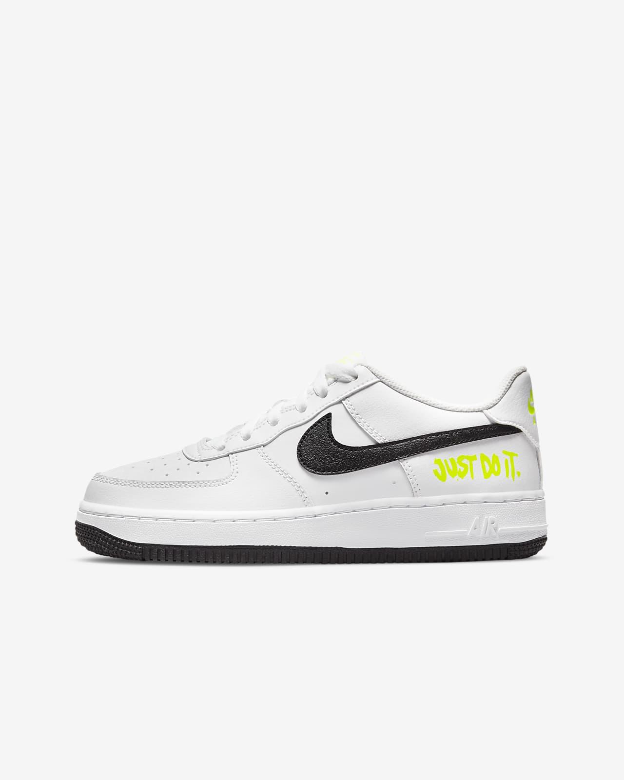 Nike Air Force 1 Low Big Kids' Shoes