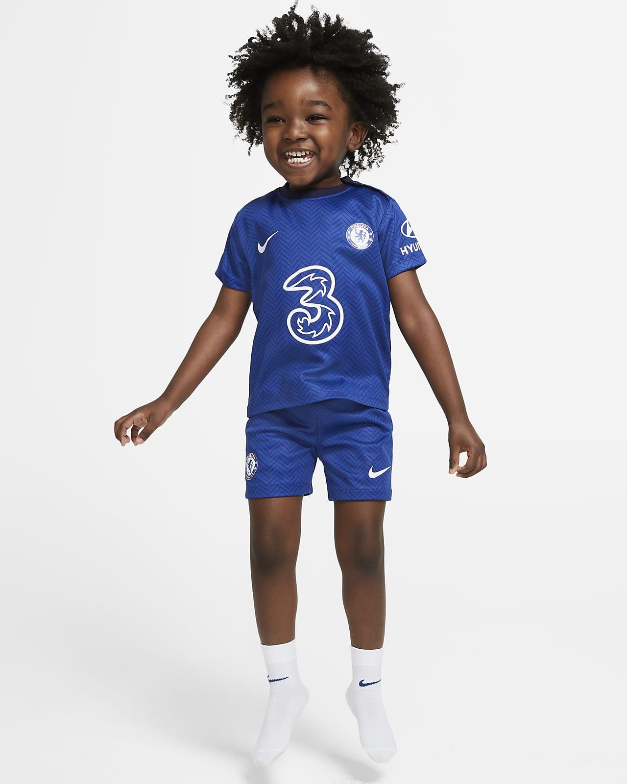 Primera equipació Chelsea FC 2020/21 Equipació de futbol - Nadó i infant