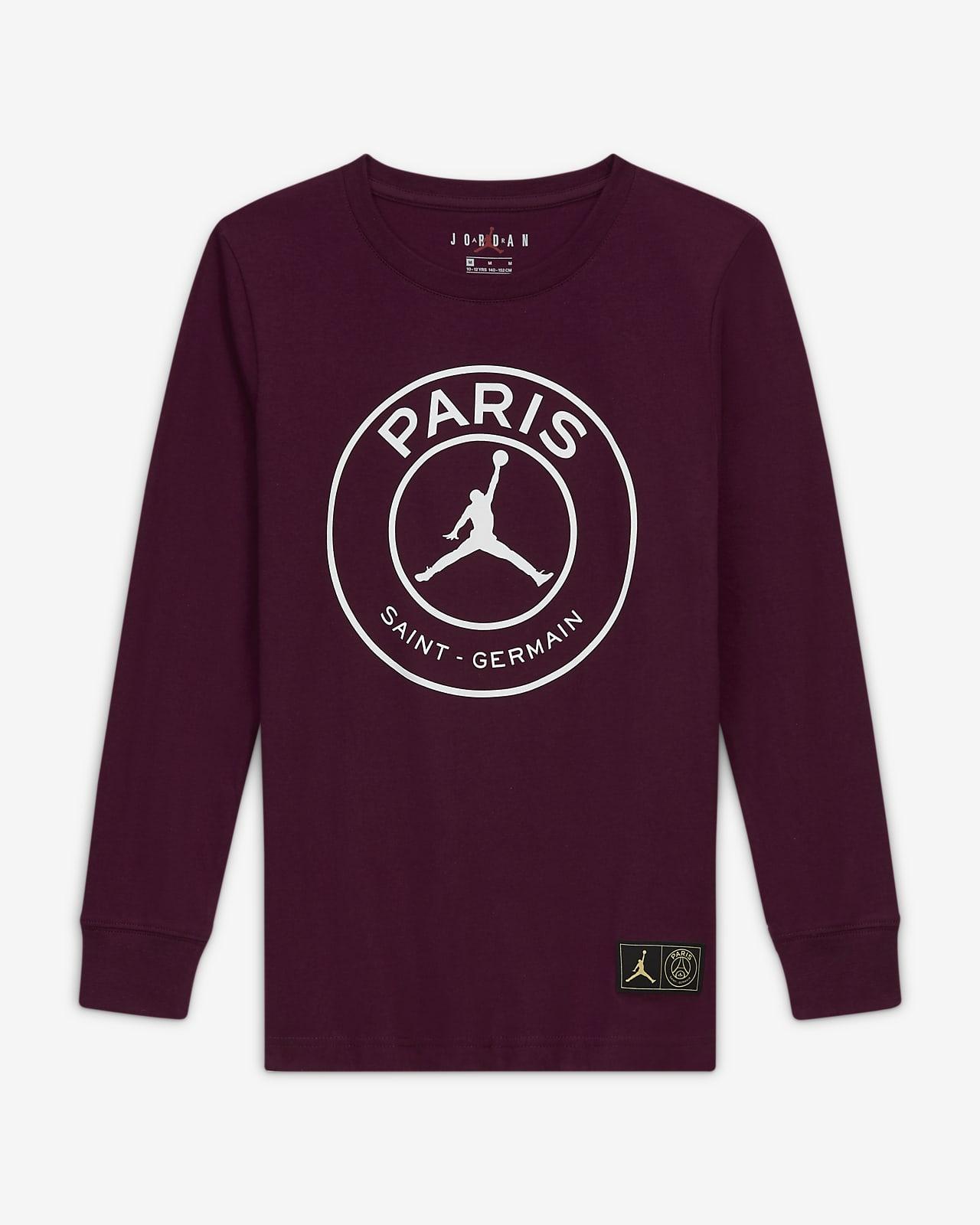 Paris Saint-Germain Big Kids' (Boys') Long-Sleeve T-Shirt
