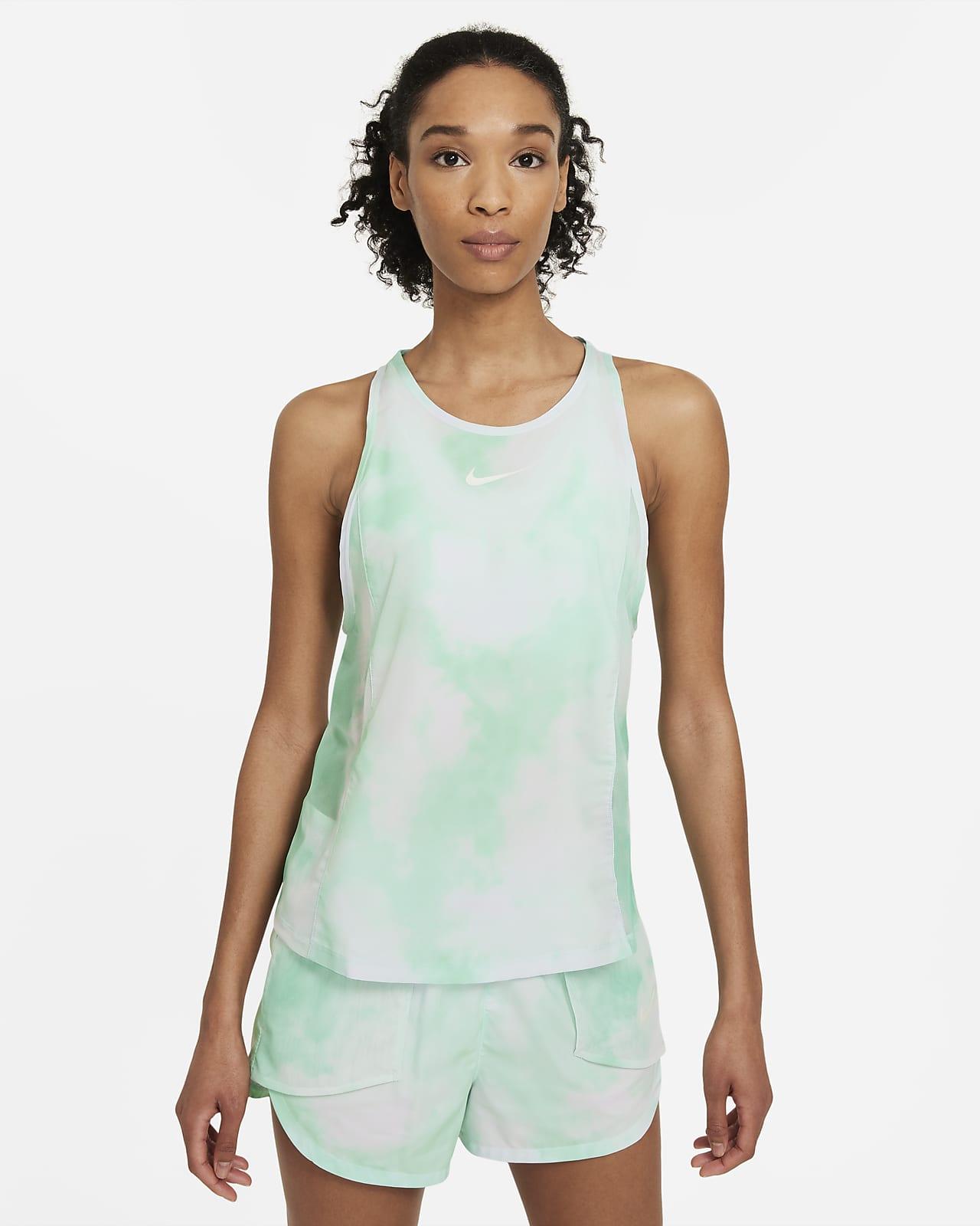 Damska koszulka bez rękawów do biegania Nike Icon Clash City Sleek