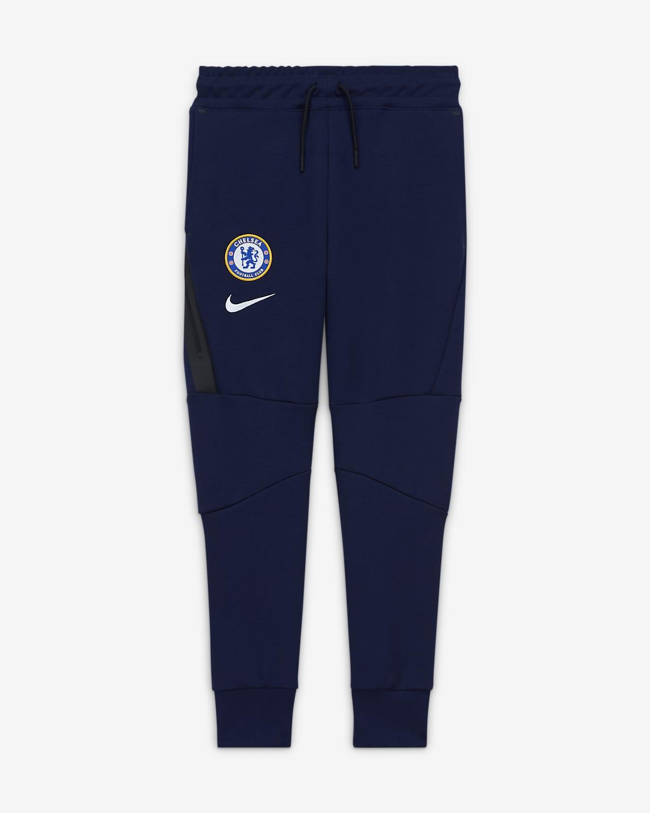 Spodnie z dzianiny dla dużych dzieci Chelsea FC