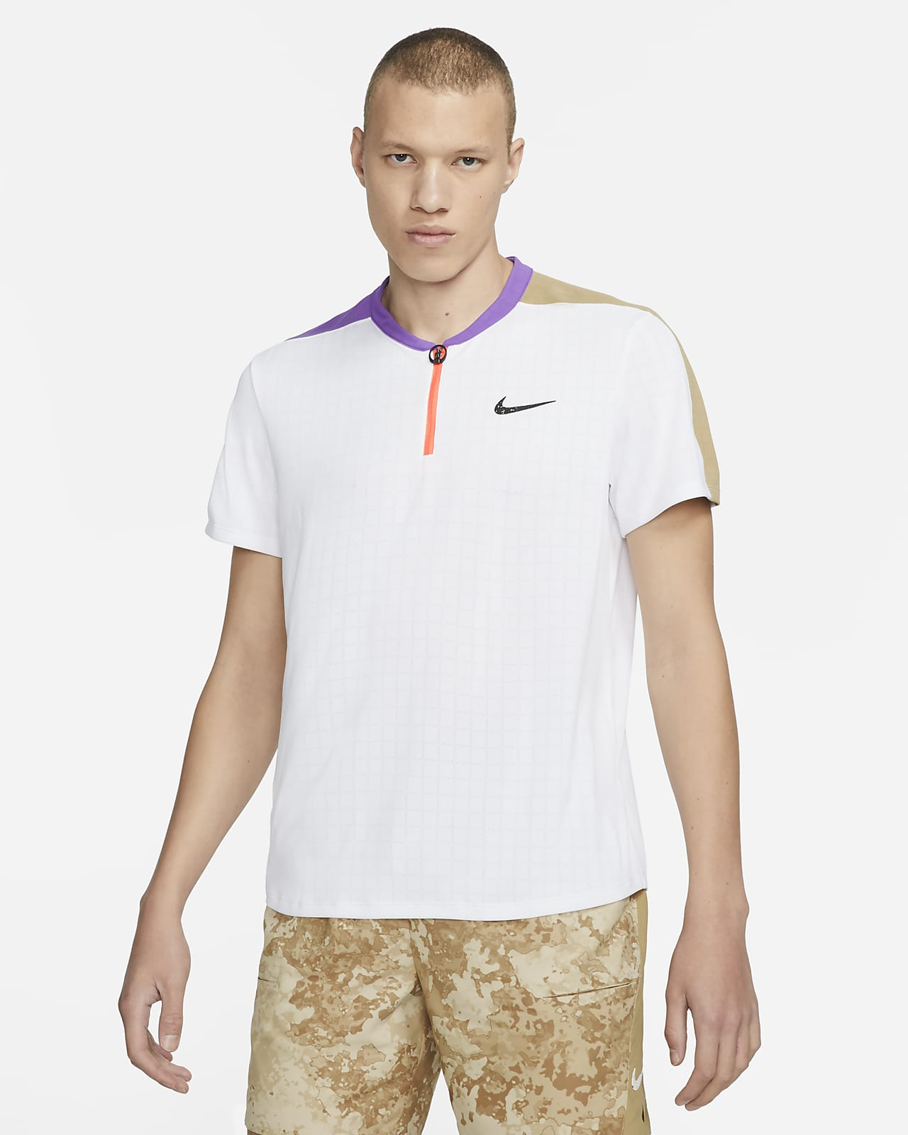NikeCourt Breathe Slam Men's Tennis Polo