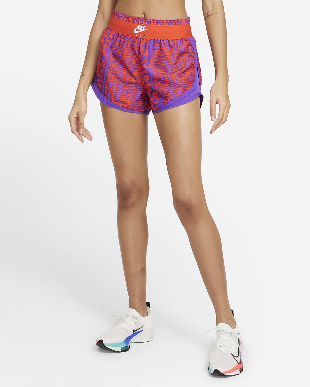 Shorts da running stampati Nike Air Tempo - Donna