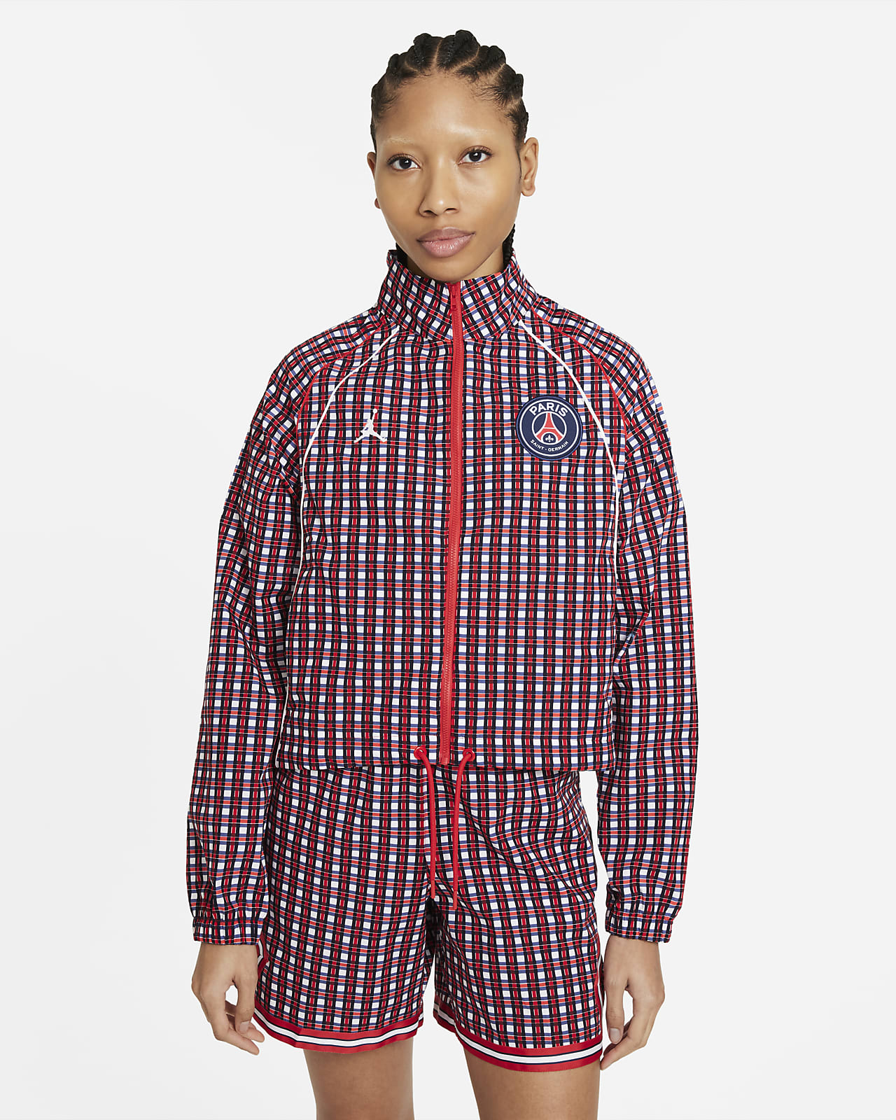 Женская куртка из тканого материала Paris Saint-Germain